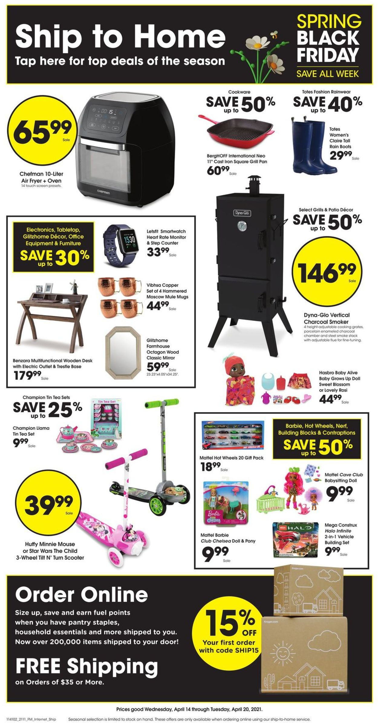 Catalogue Kroger from 04/14/2021