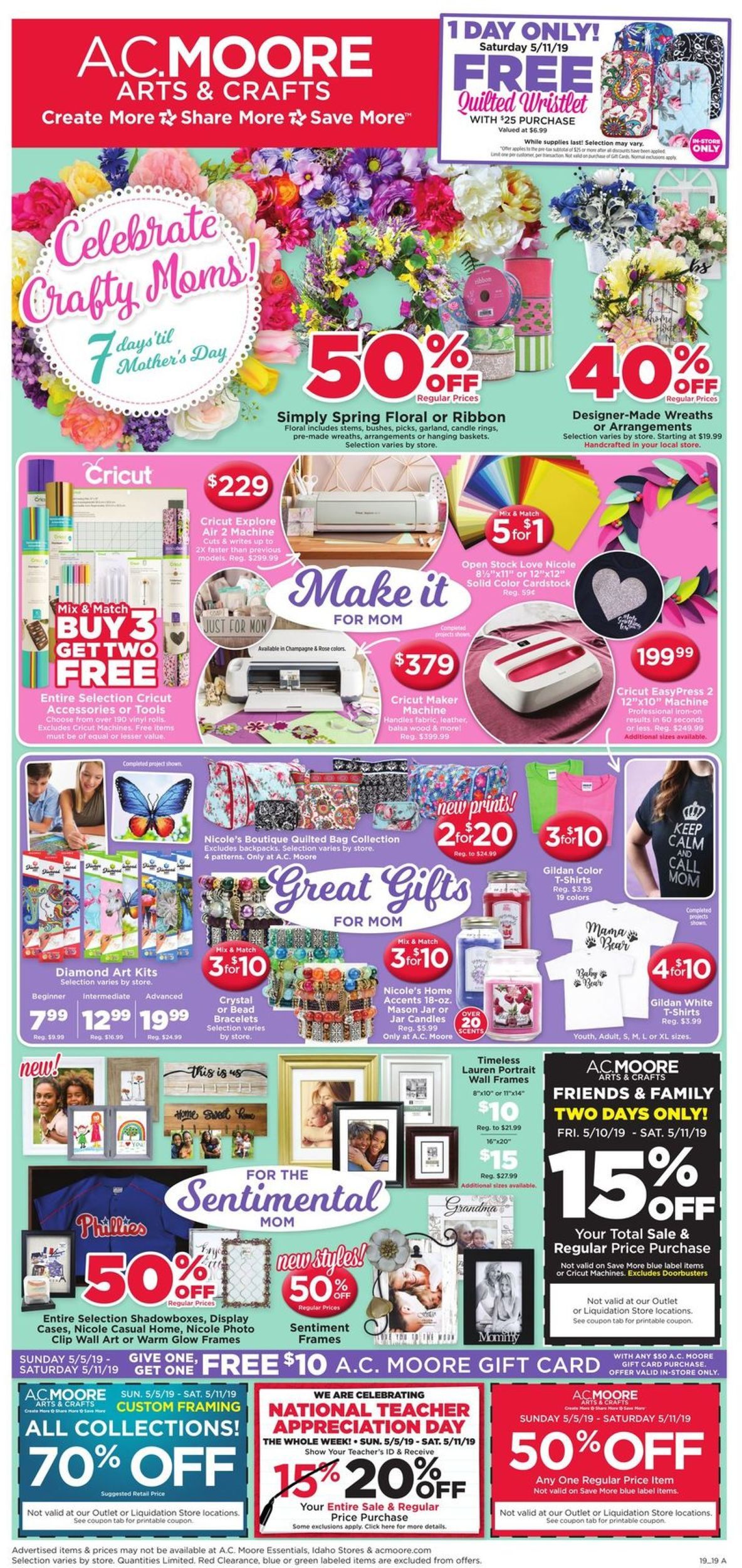 A.C. Moore Current Weekly Ad 05/05