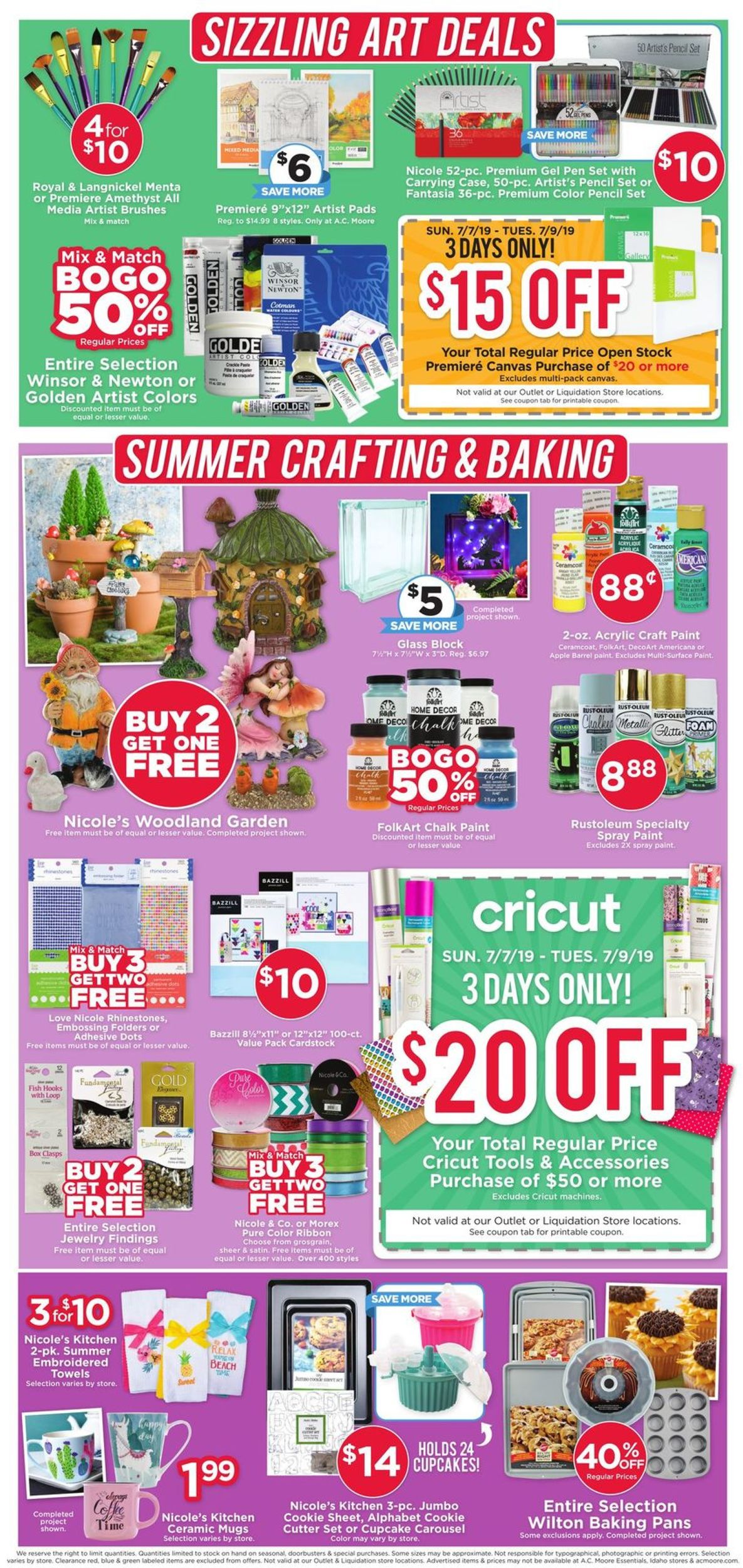 A C Moore Current Weekly Ad 07 07 07 13 2019 4
