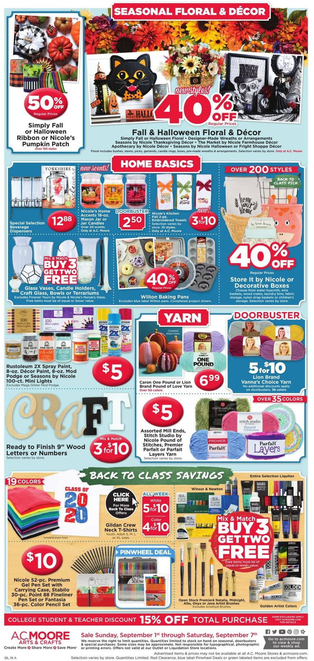 A C Moore Current Weekly Ad 09 01 09 07 2019 2
