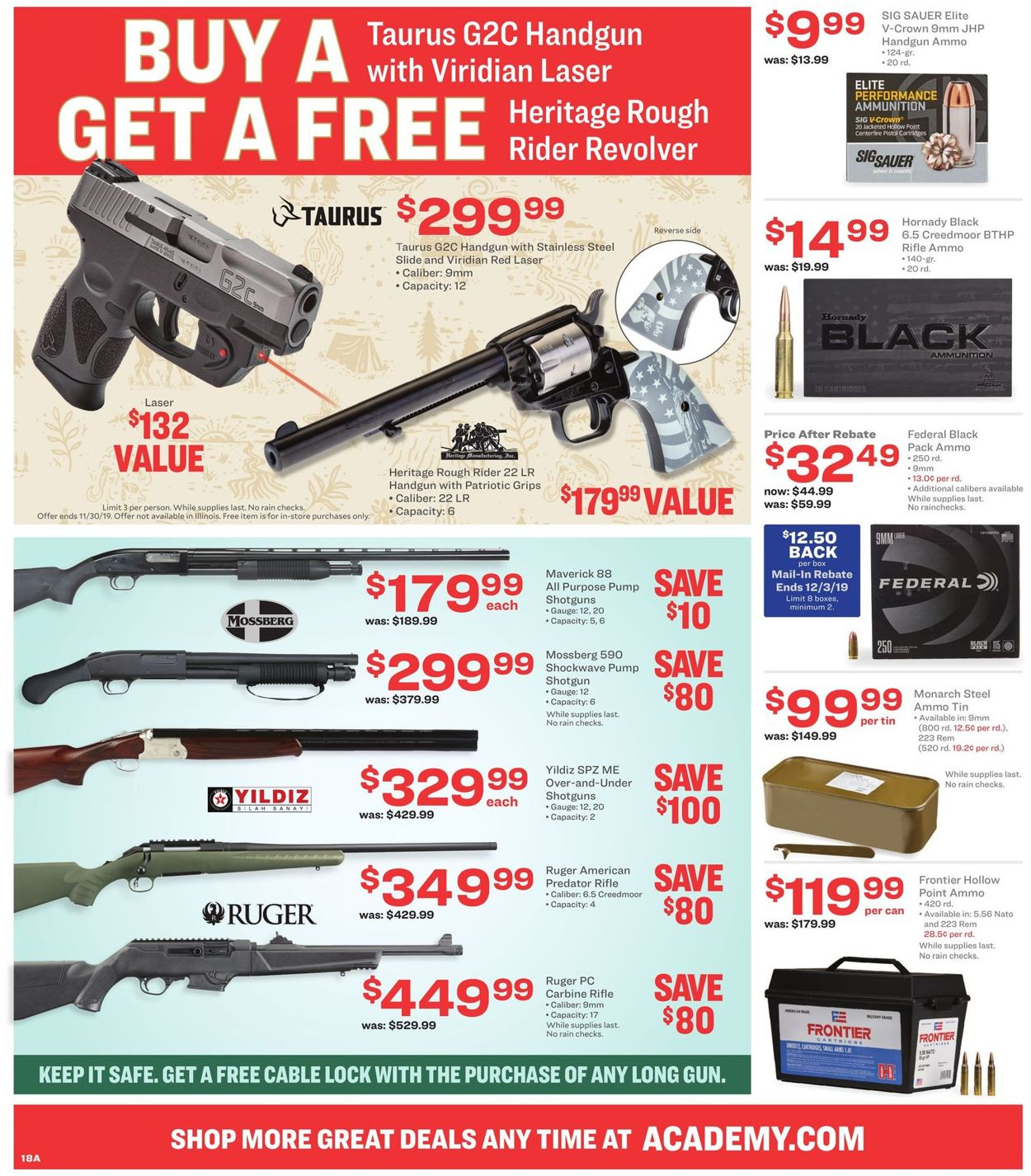 Academy Sports Black Friday Ad 2019 Current Weekly Ad 11 26 12 01 2019 26 Frequent Ads Com