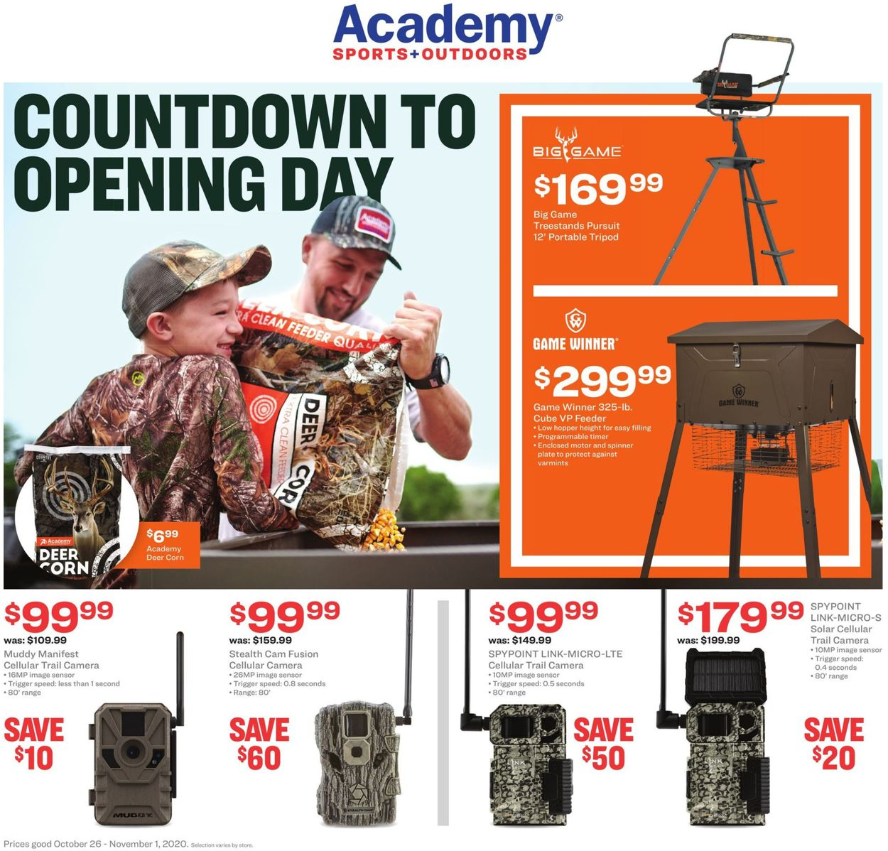 Jayc Foods Christmas Countdown 2020 Academy Sports Current weekly ad 10/26   11/01/2020   frequent ads.com