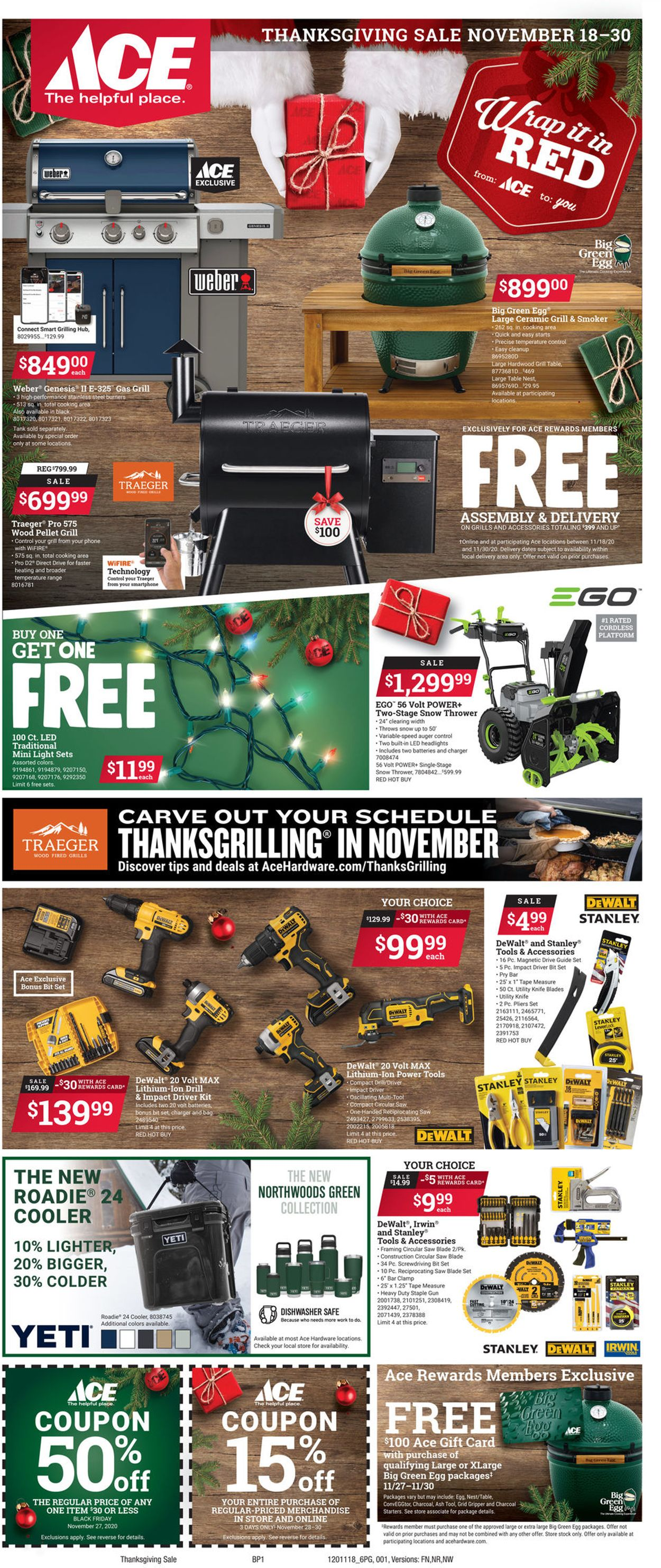 Catalogue Ace Hardware Holiday 2020 from 11/18/2020
