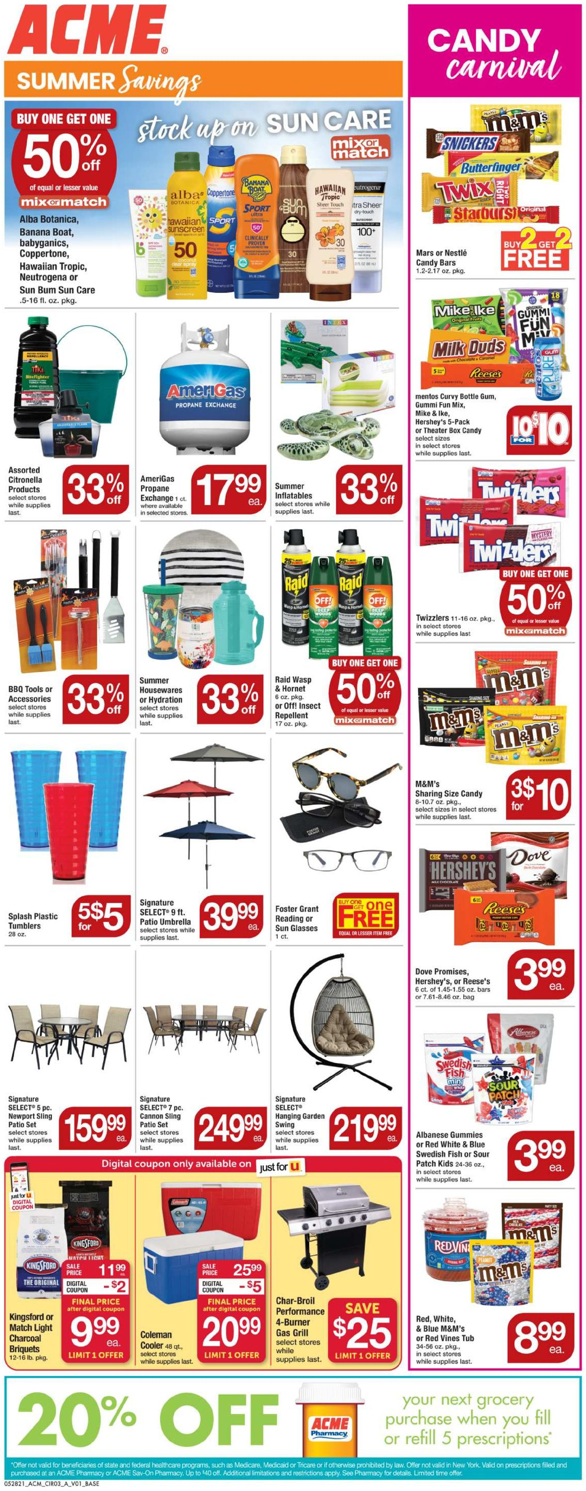 Catalogue Acme from 05/28/2021
