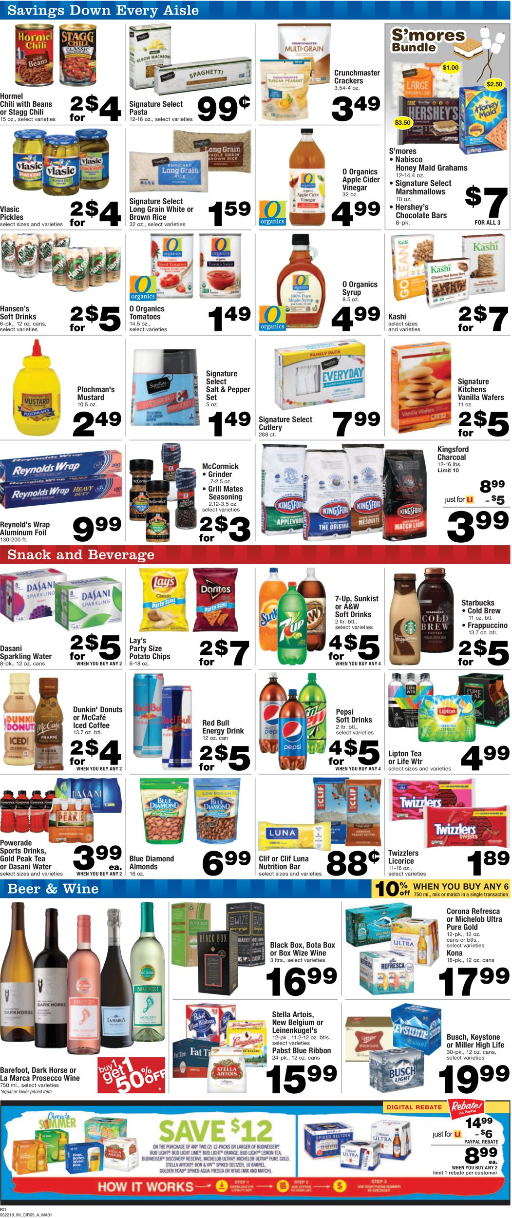 Albertsons Current weekly ad 05/22 - 05/28/2019 [6] - frequent-ads com