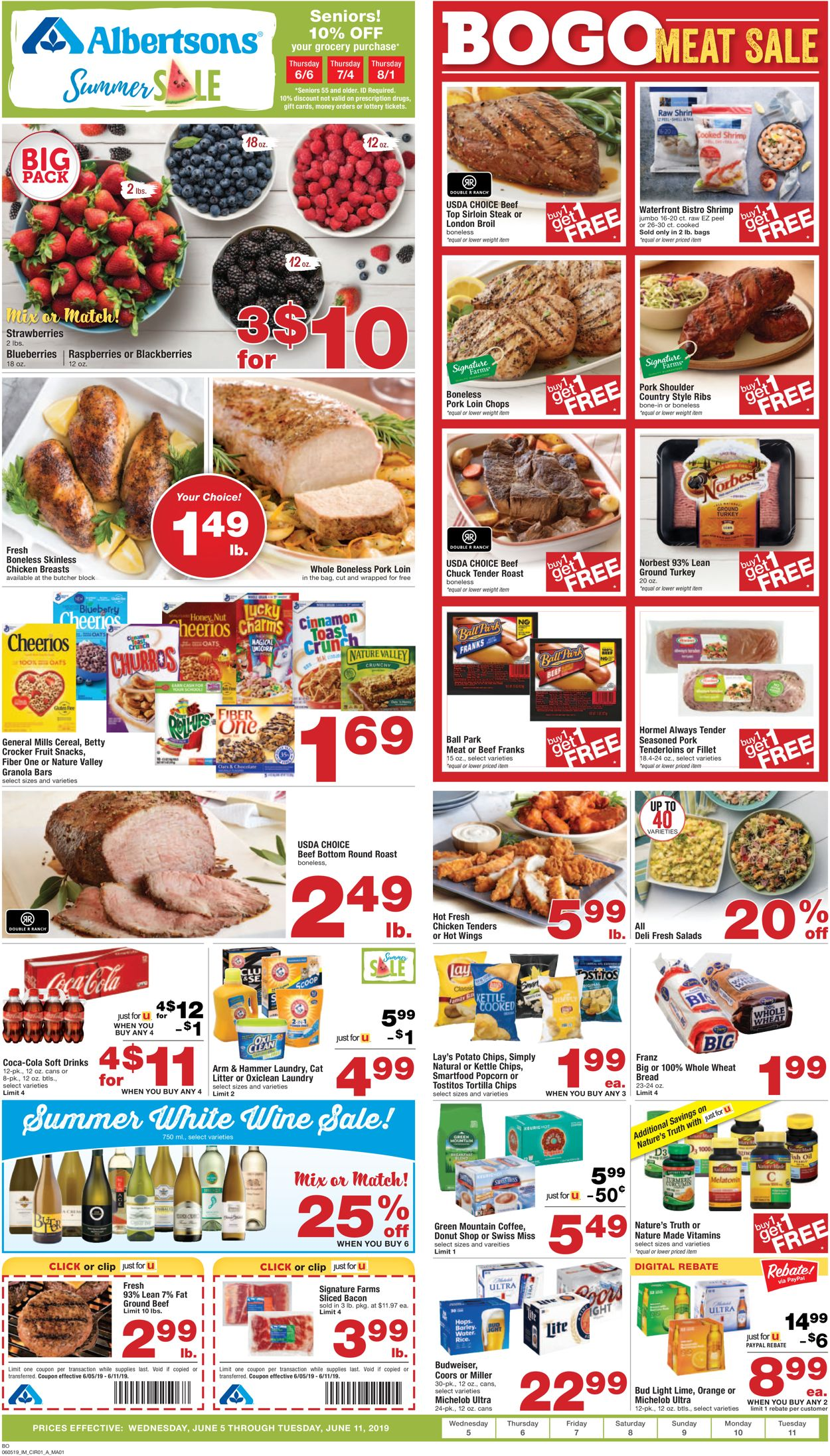 Albertsons Current weekly ad 06/05 - 06/11/2019 - frequent-ads com