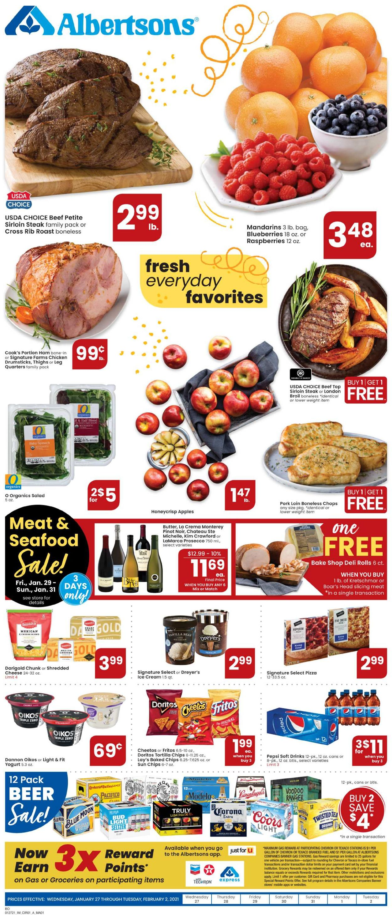 Catalogue Albertsons from 01/27/2021