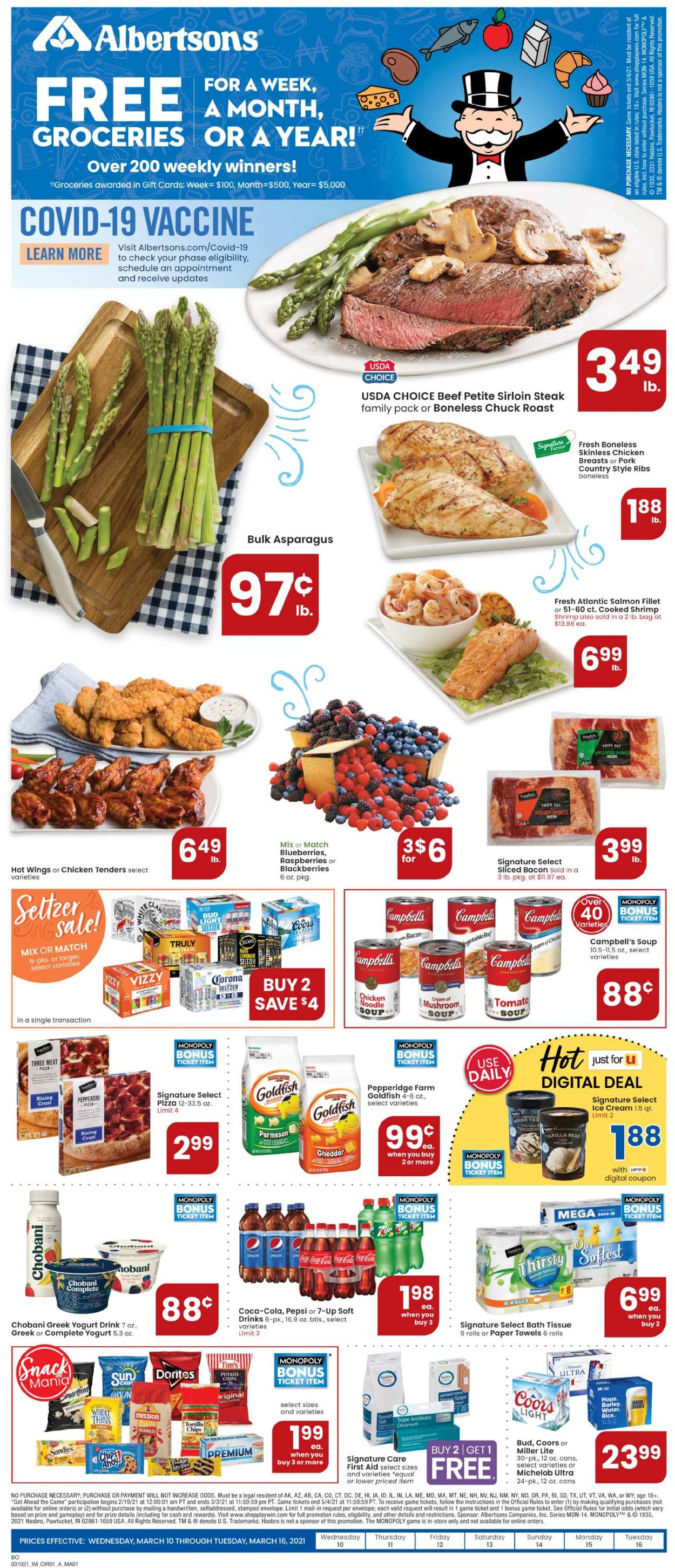 Catalogue Albertsons from 03/10/2021