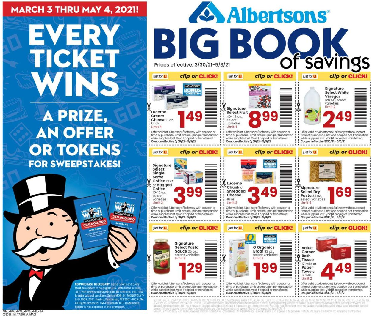 Catalogue Albertsons from 03/30/2021