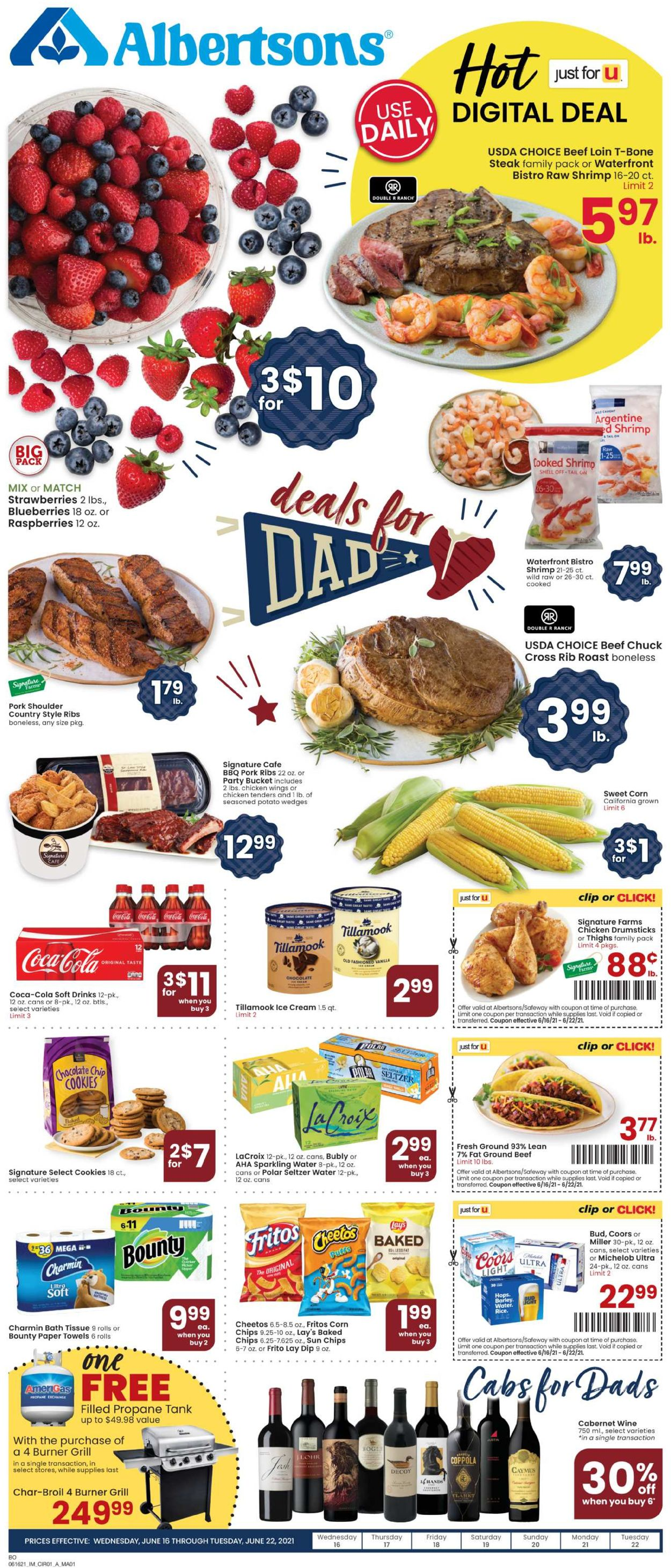 Catalogue Albertsons from 06/16/2021