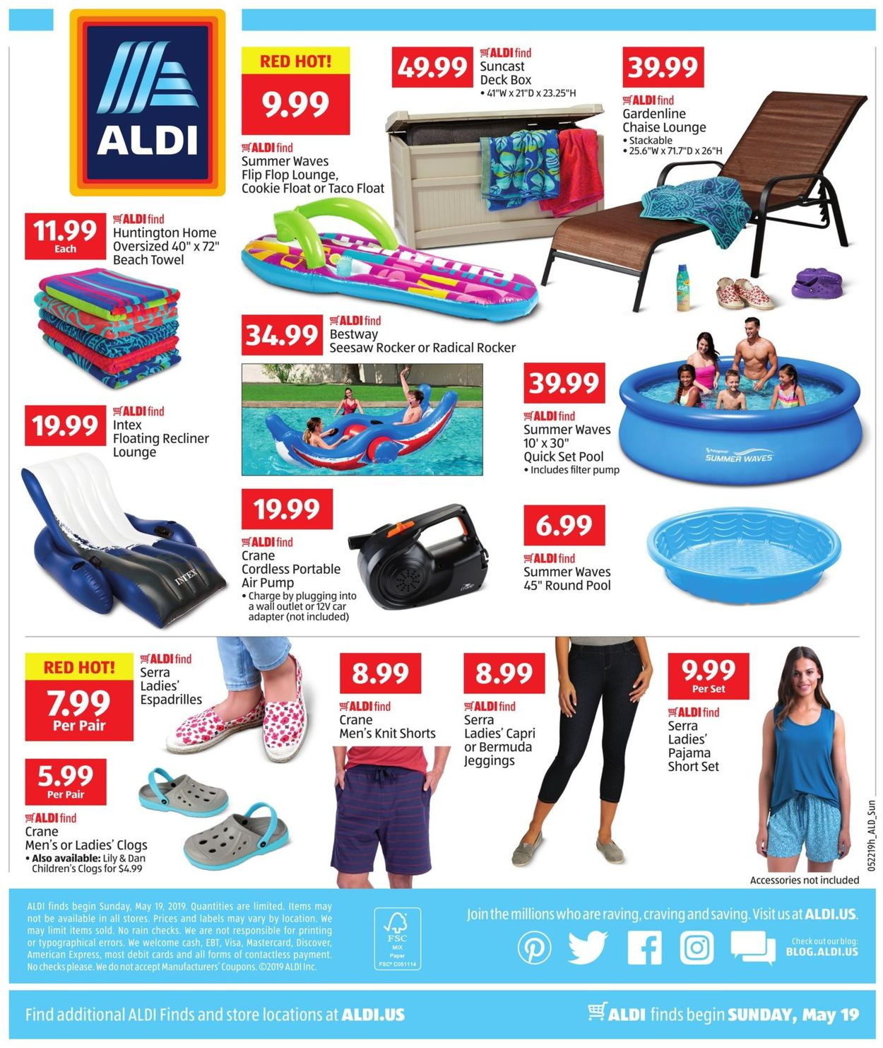 Aldi Current Weekly Ad 05 19 05 25 2019 4 Frequent