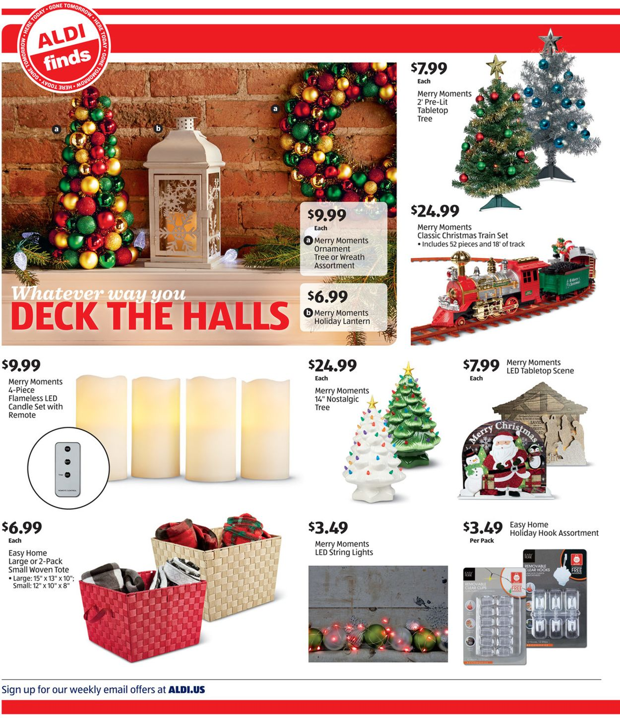 Aldi Artificial Christmas 2020 Tree ALDI Current weekly ad 11/20   11/26/2019 [2]   frequent ads.com