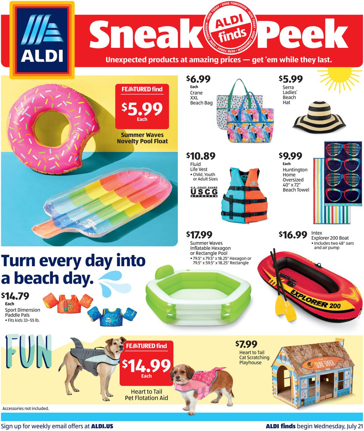 Catalogue ALDI from 07/21/2021