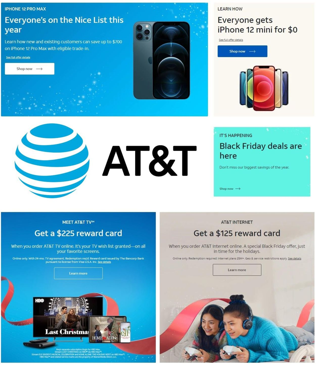 Catalogue AT&T Black Friday 2020 from 11/27/2020