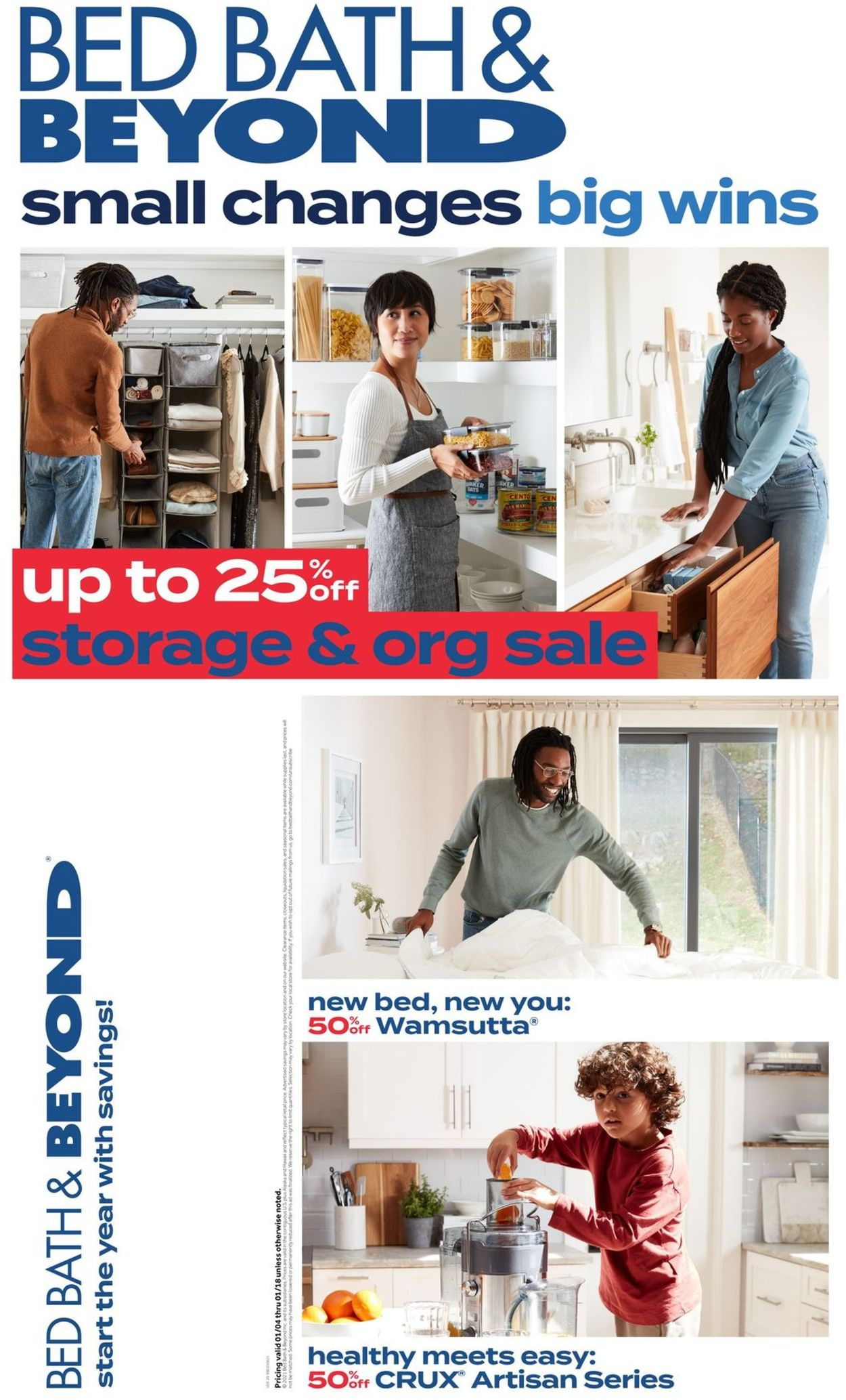 Catalogue Bed Bath and Beyond from 01/06/2021