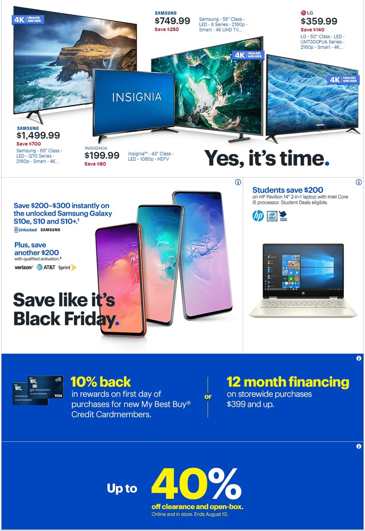 Best Buy Current Weekly Ad 07 21 07 27 2019 2 Frequent Ads Com