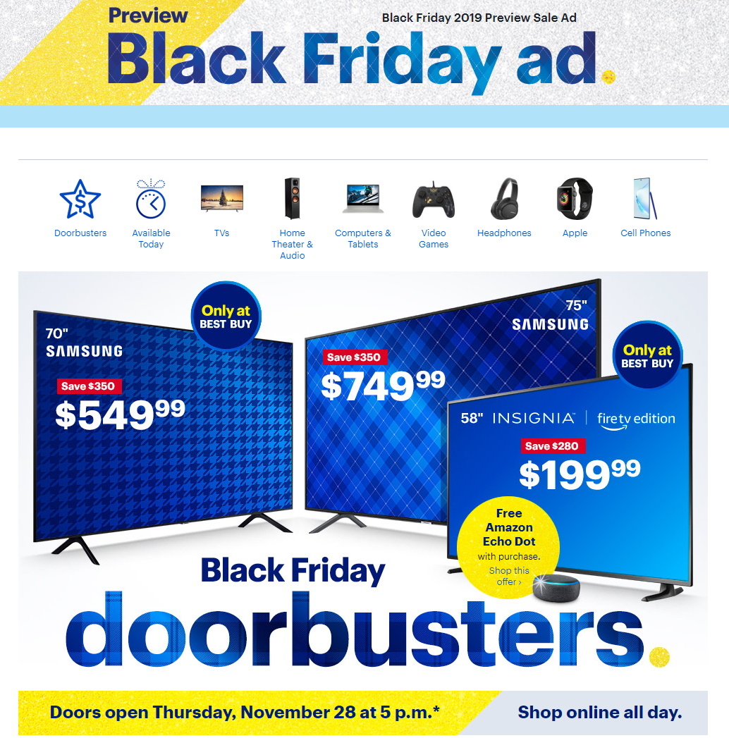 Best Buy Black Friday Ad 2019 Current Weekly Ad 11 13 11 20 2019 Frequent Ads Com