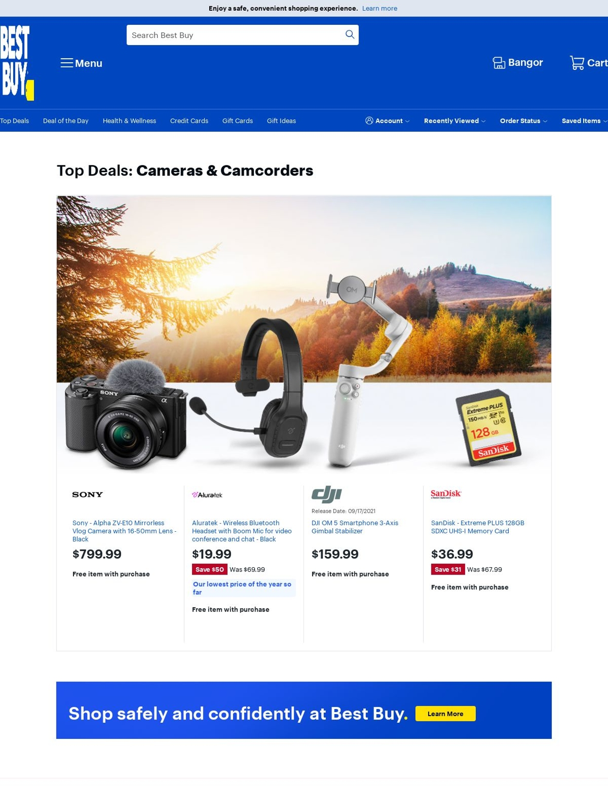 Catalogue Best Buy from 09/17/2021