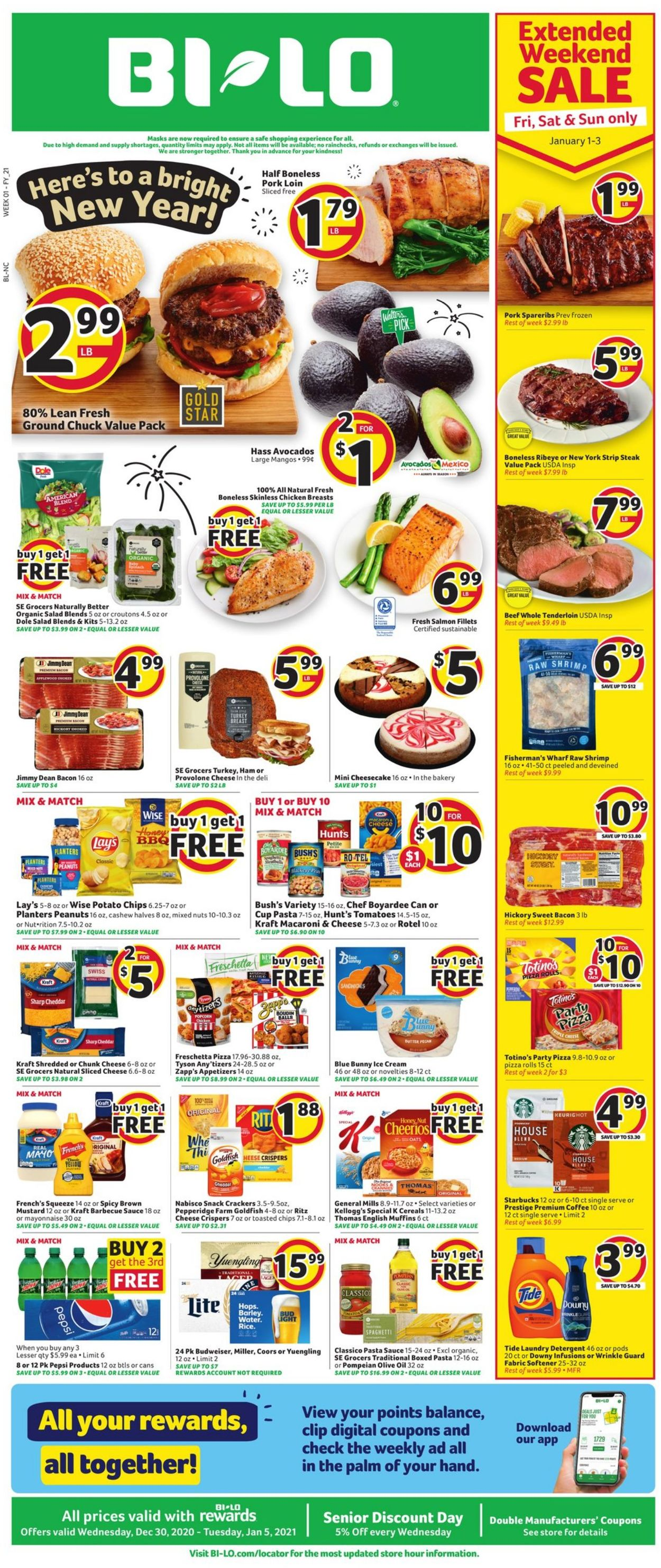 Catalogue BI-LO from 12/30/2020