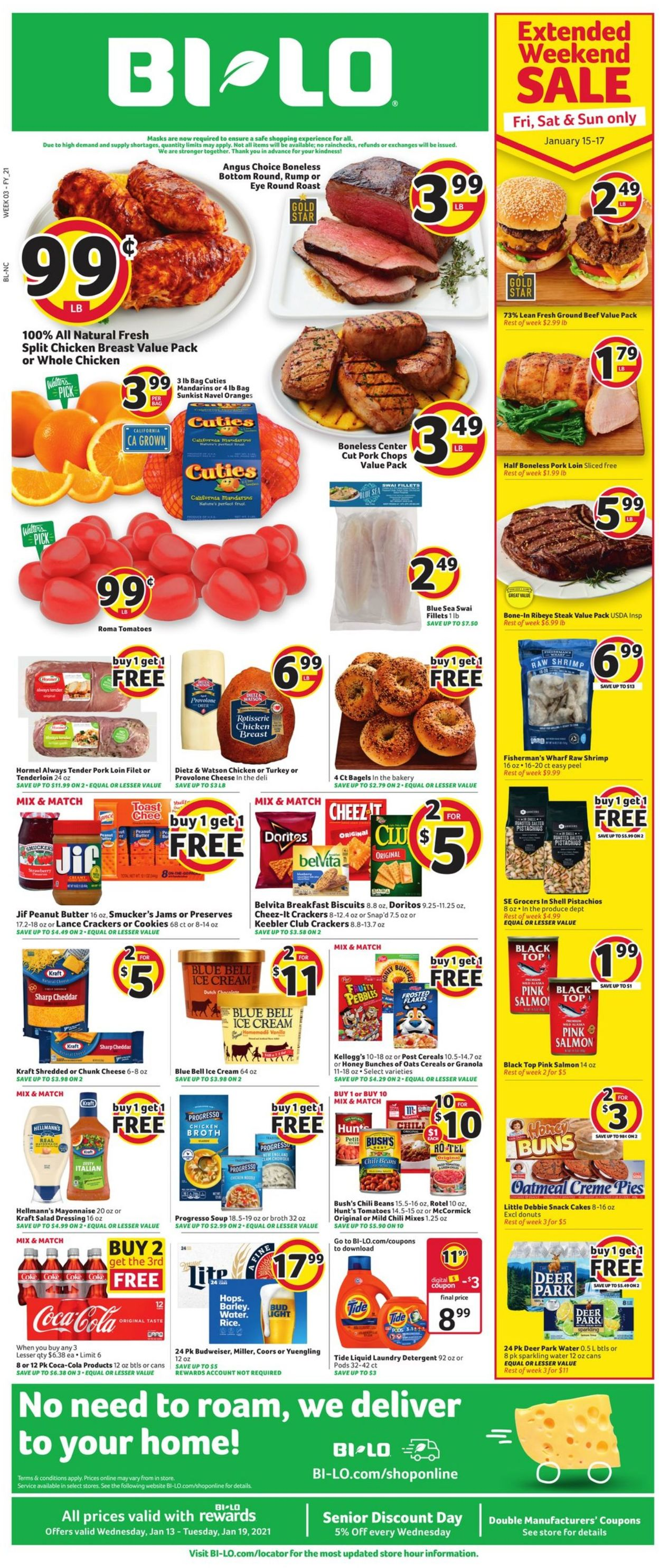 Catalogue BI-LO from 01/13/2021
