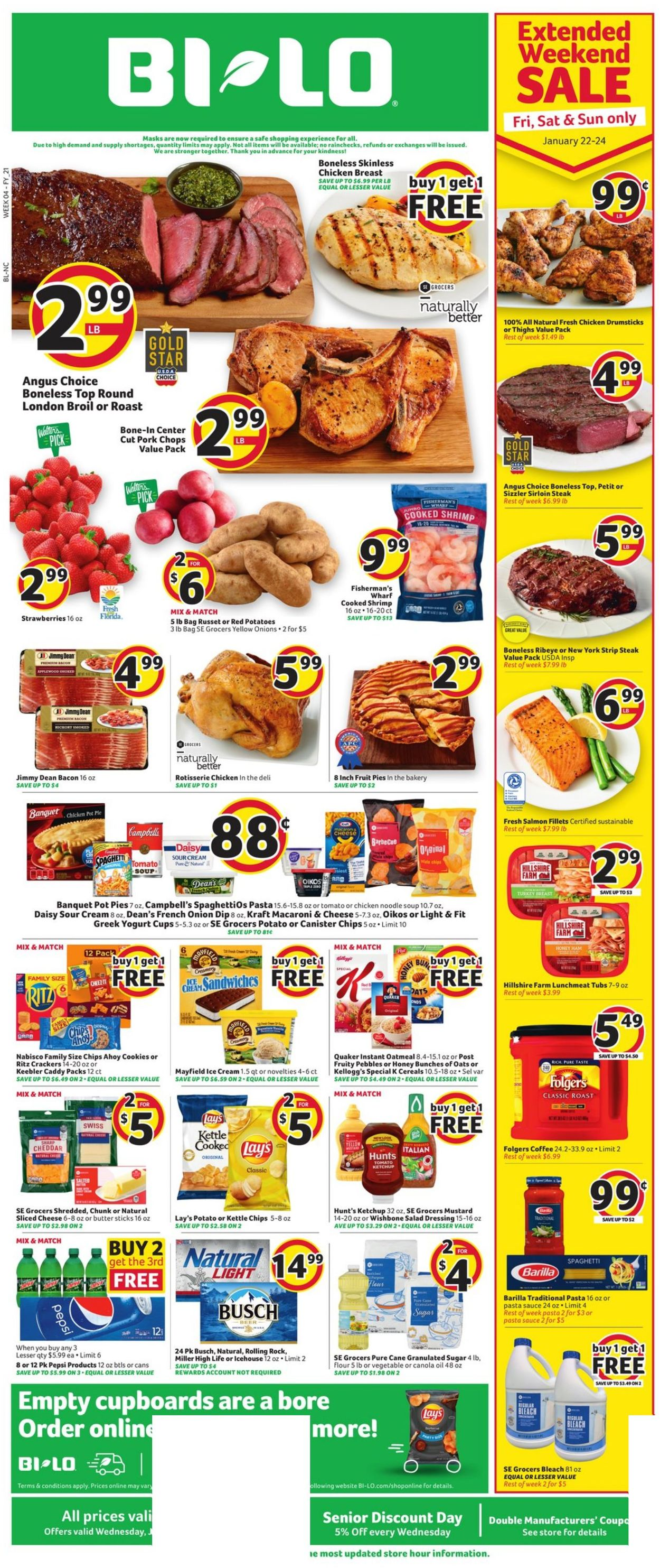 Catalogue BI-LO from 01/20/2021