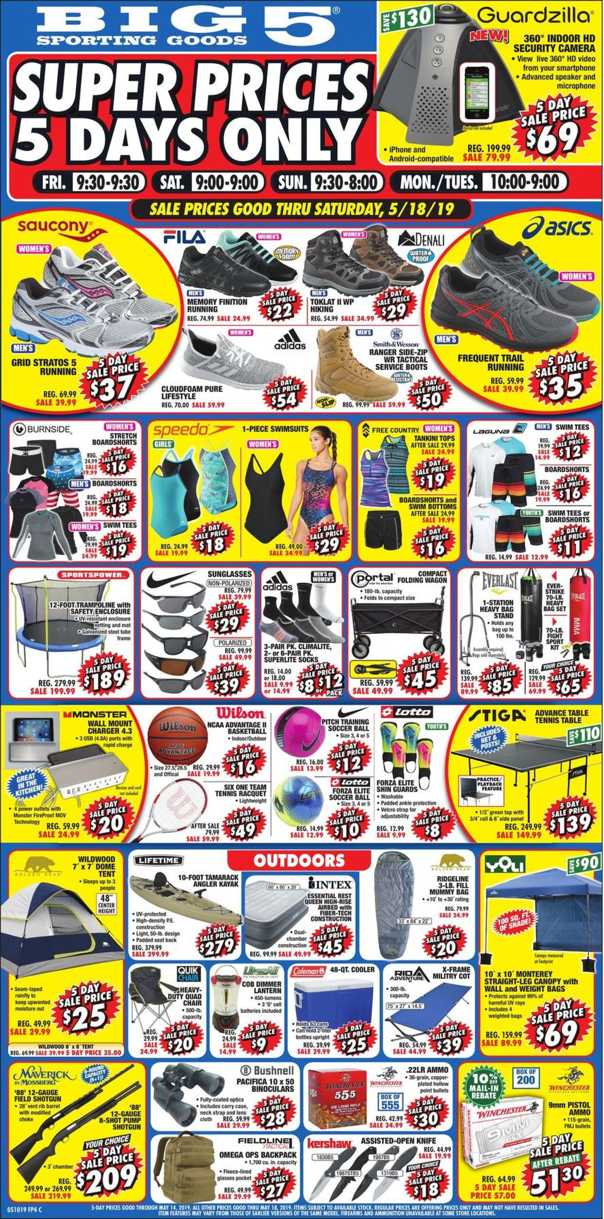 Big 5 Current weekly ad 05/14 - 05/18/2019 - frequent-ads com