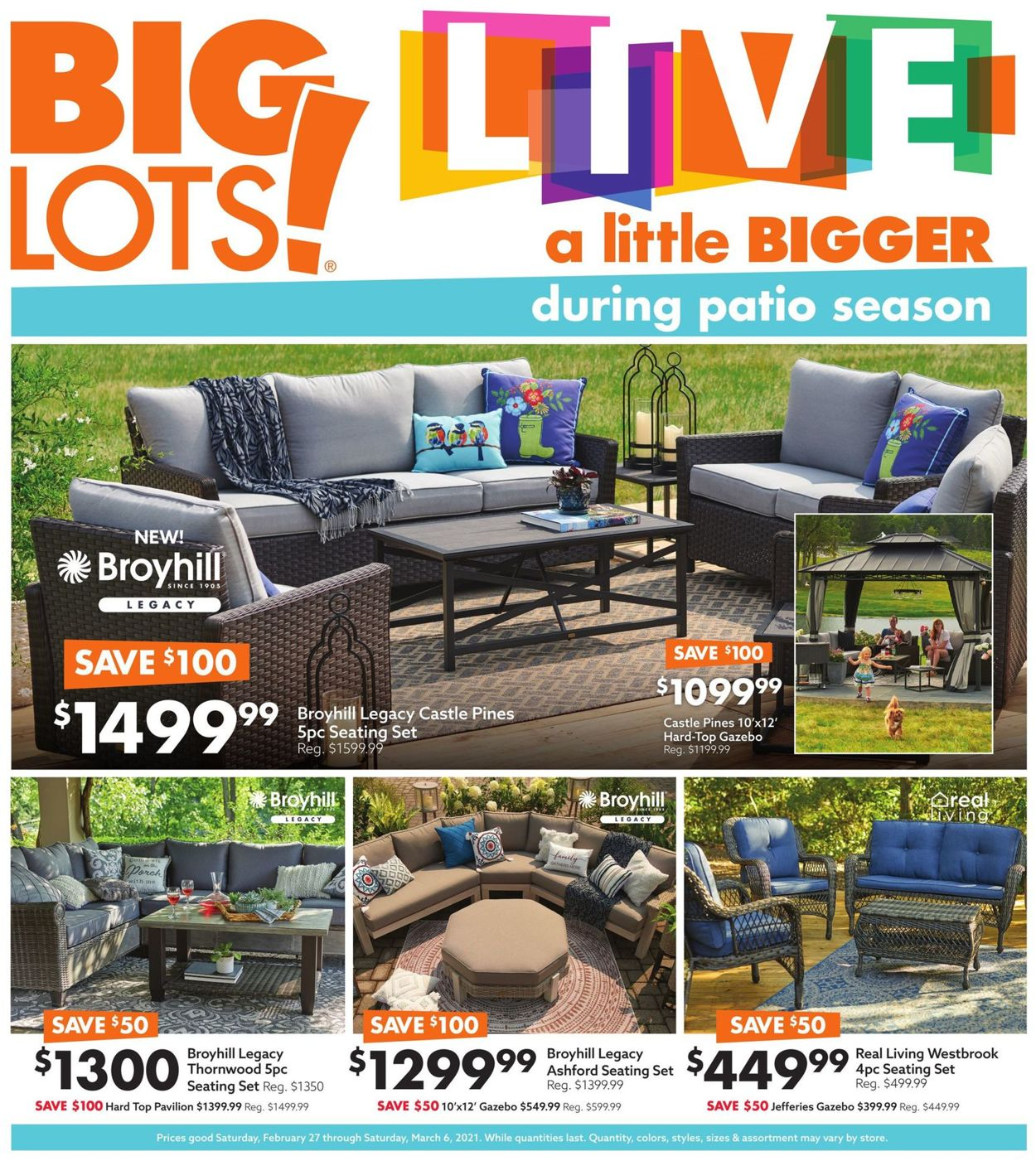 Catalogue Big Lots from 02/27/2021