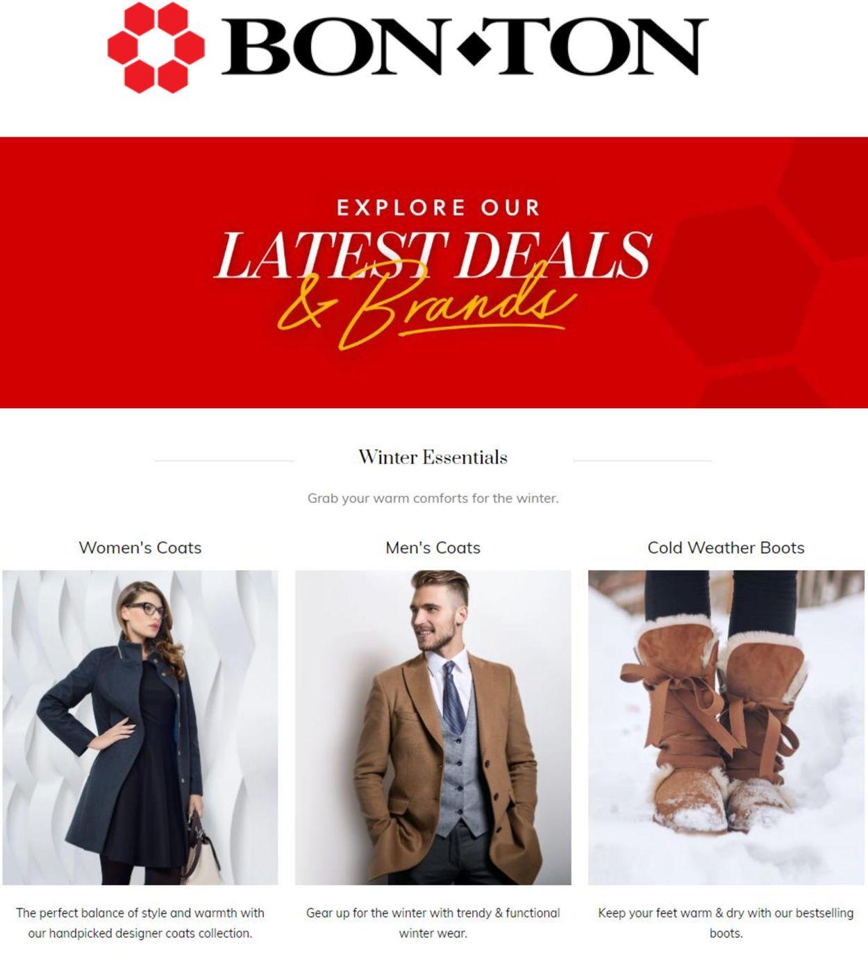 BonTon weekly-ad
