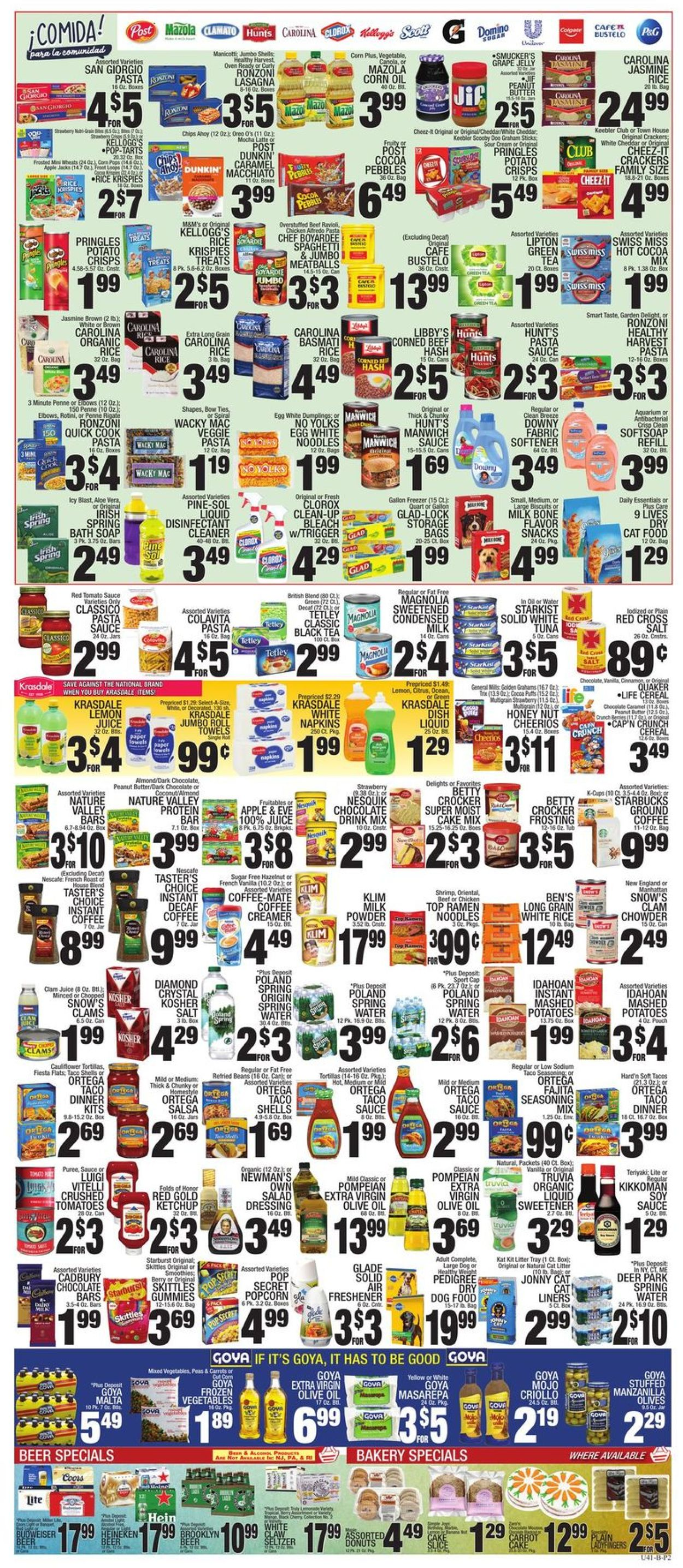 Catalogue C-Town from 09/17/2021