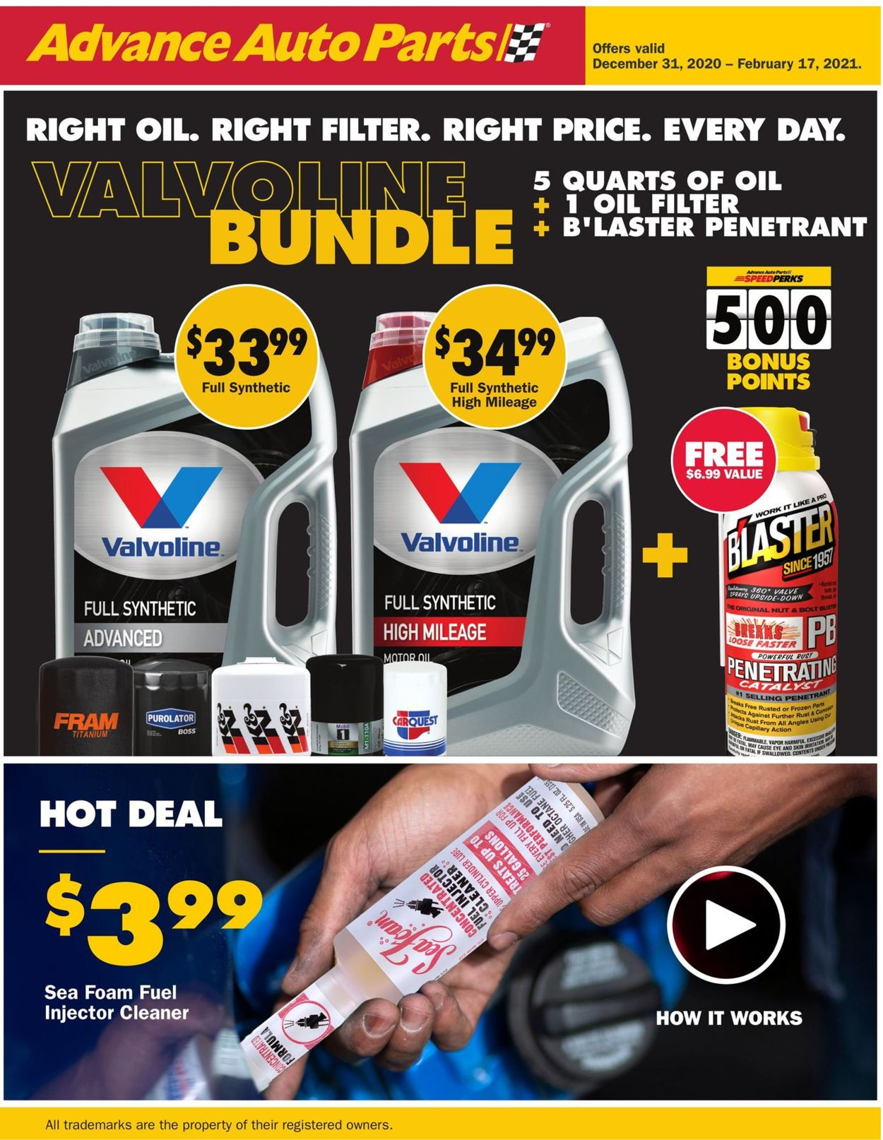 Catalogue CarQuest from 12/31/2020