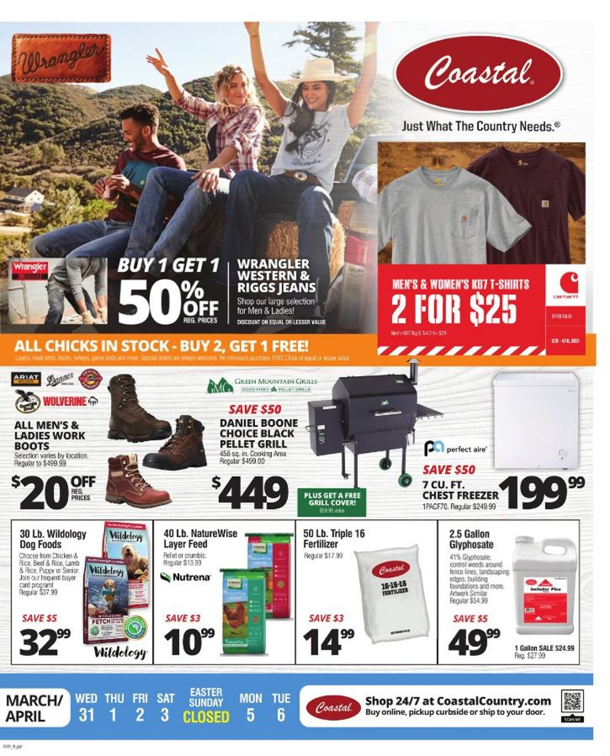 Catalogue Coastal Farm & Ranch - Easter 2021 Ad from 03/31/2021