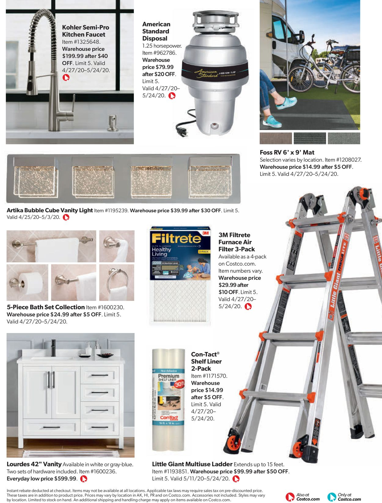 Costco Current Weekly Ad 05 01 05 31 2020 84 Frequent Ads Com