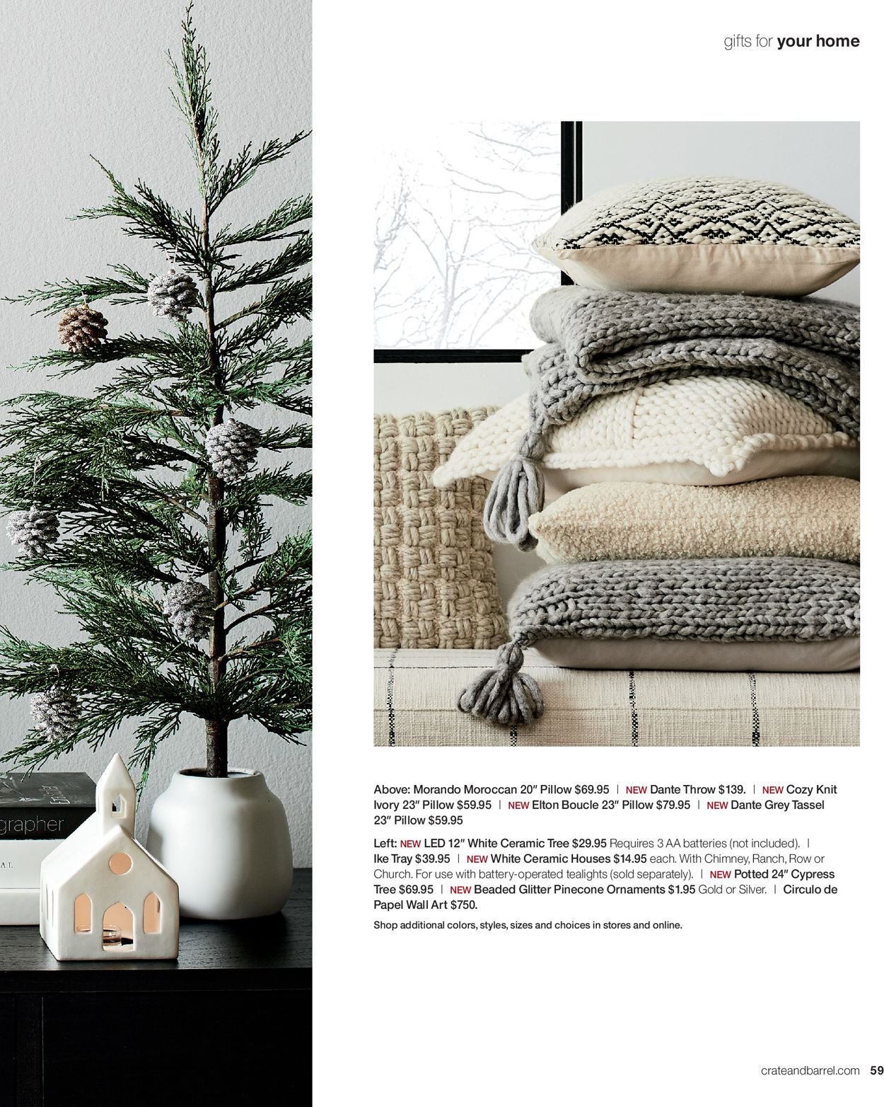 Crate Barrel Holidays Ad 2019 Current Weekly Ad 12 01 12 24 2019 59 Frequent Ads Com