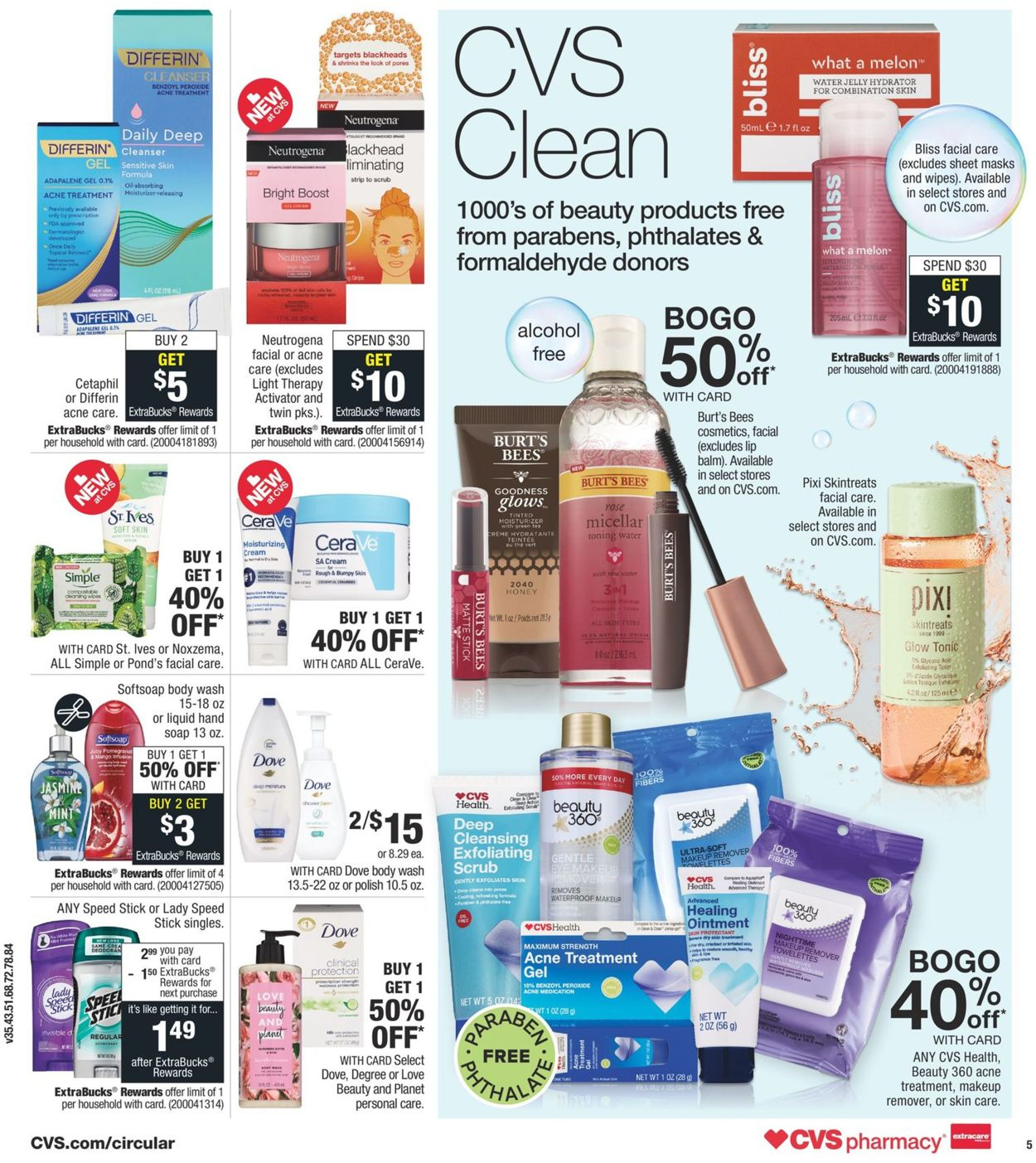 Cvs Pharmacy Current Weekly Ad 10 06 10 12 2019 6 Frequent Ads Com