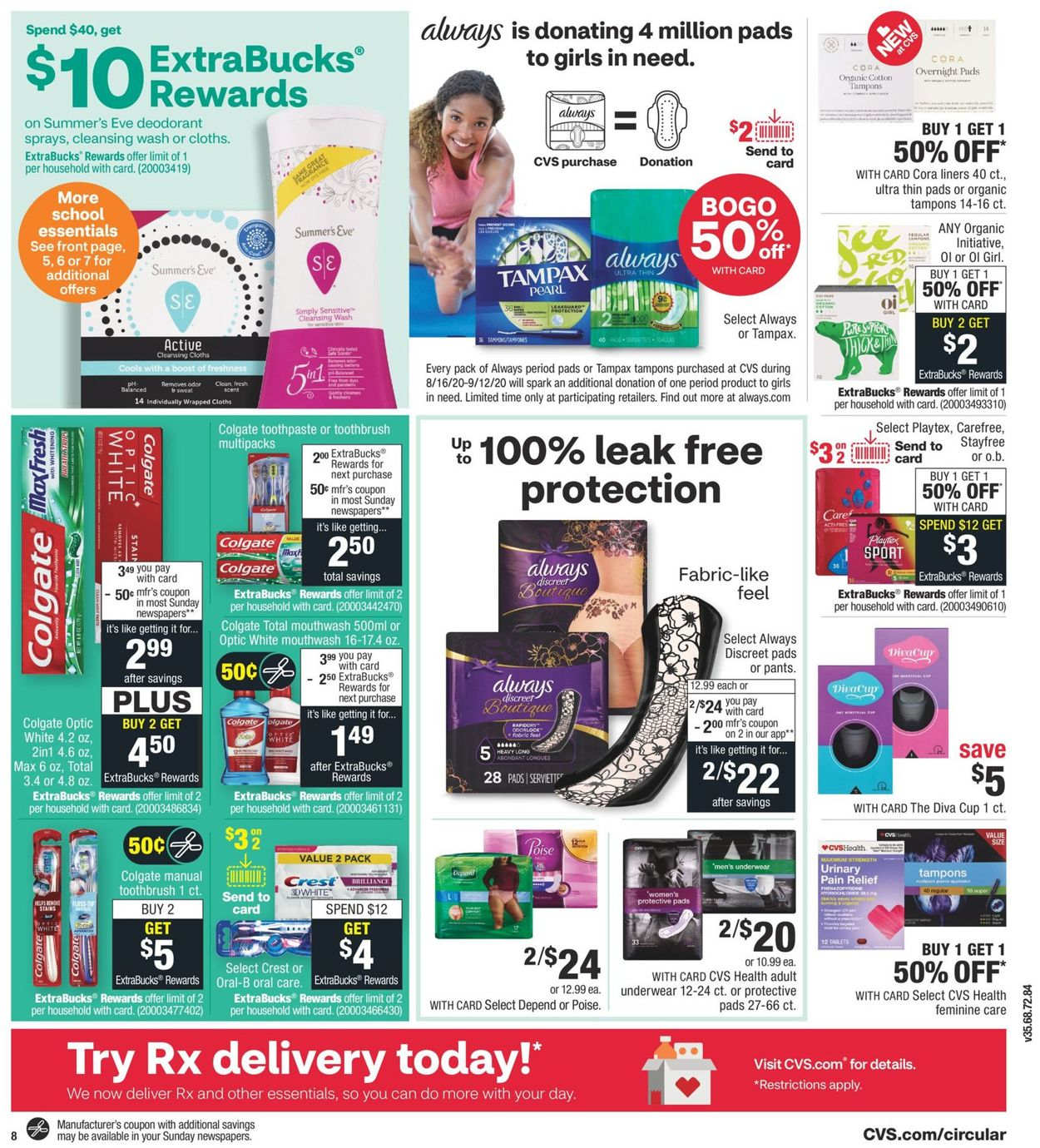 Cvs Pharmacy Current Weekly Ad 08 16 08 22 2020 9 Frequent Ads Com