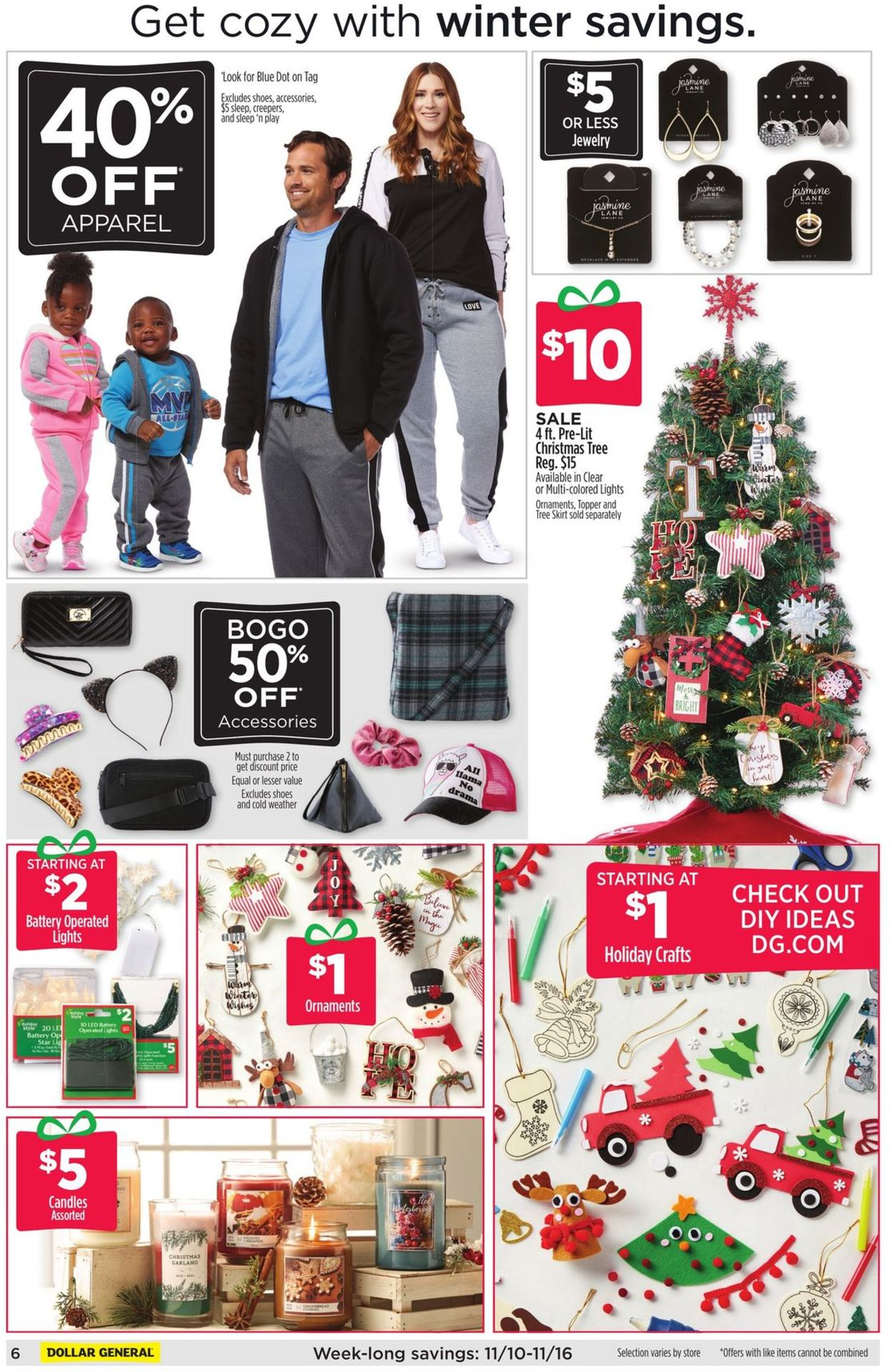 Dollar General Current weekly ad 11/10