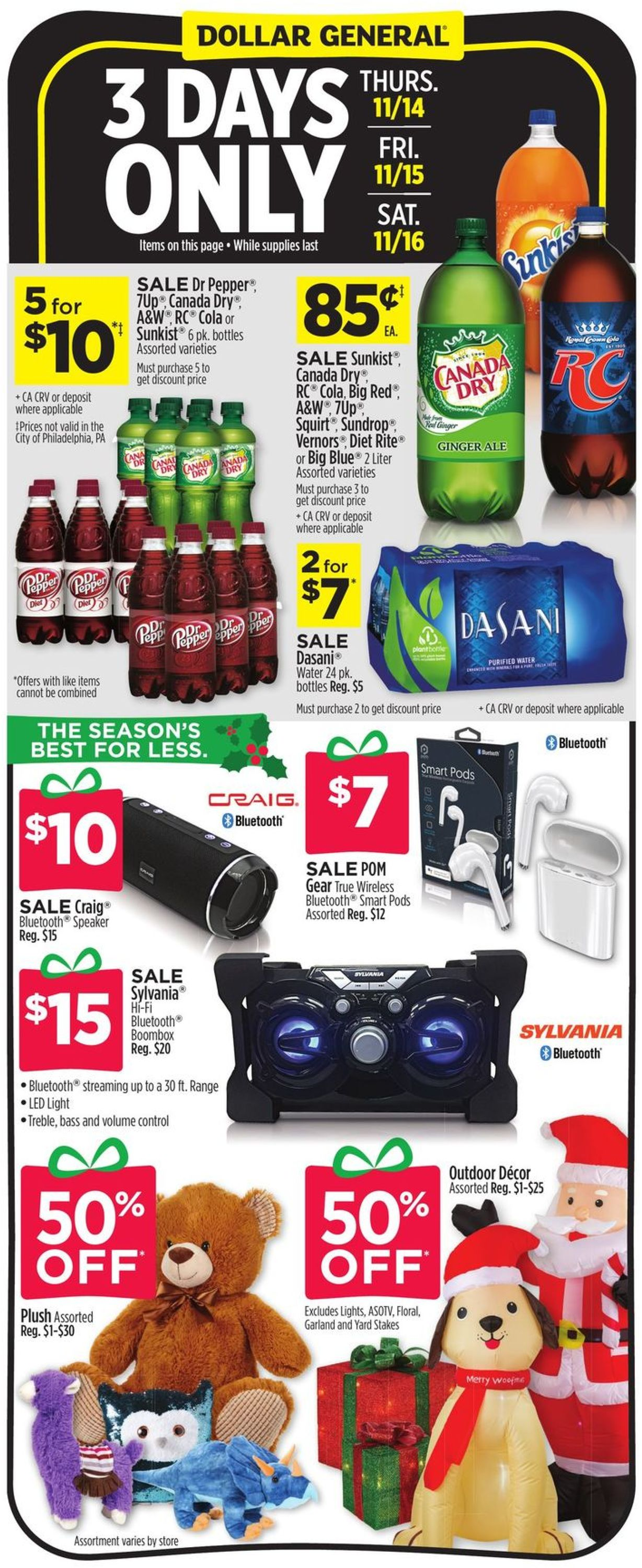 Dollar General Current weekly ad 10/10 - 10/10/10 - frequent-ads.com