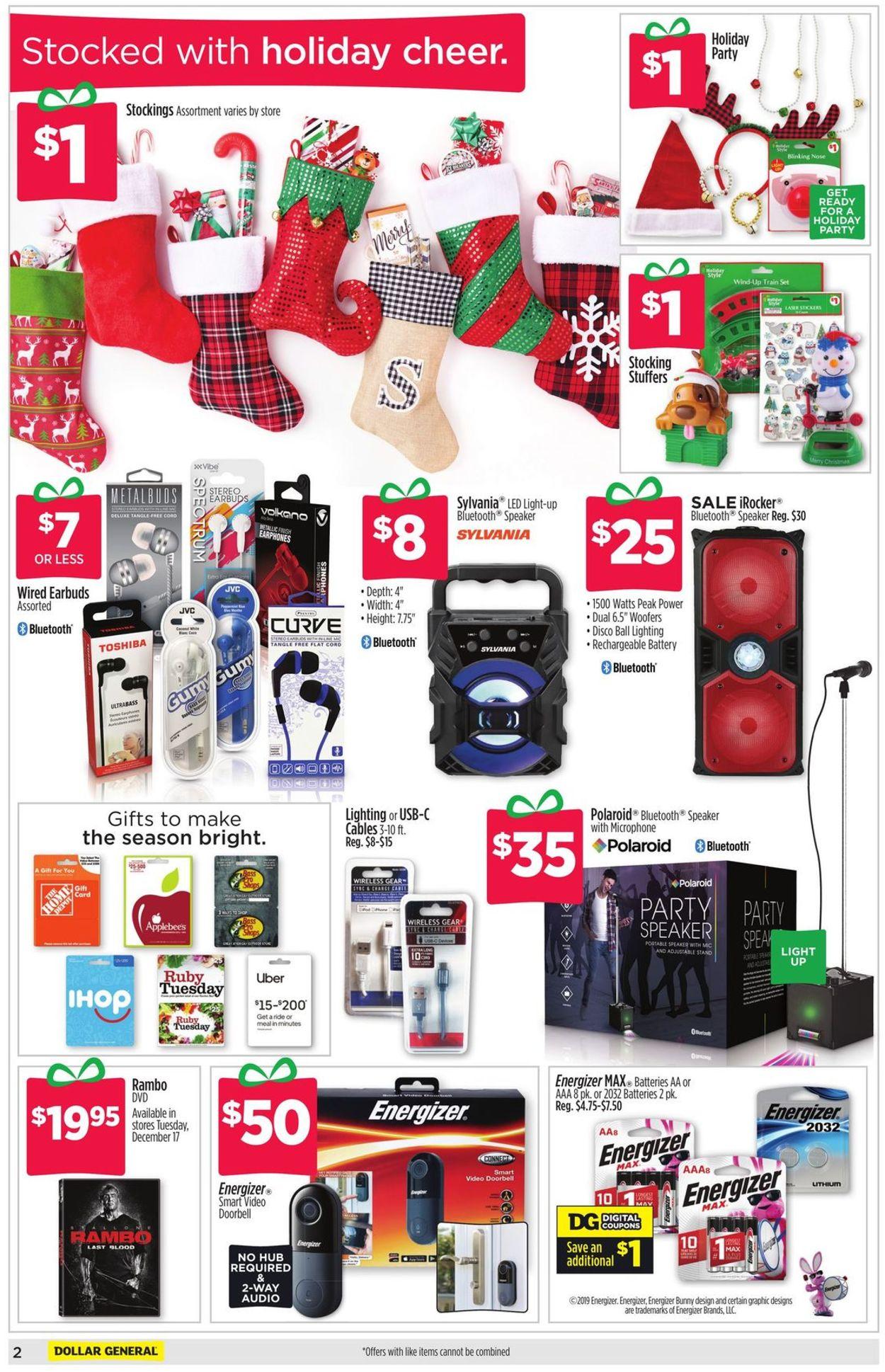 Dollar General - Holidays Ad 10 Current weekly ad 10/10 - 10/10