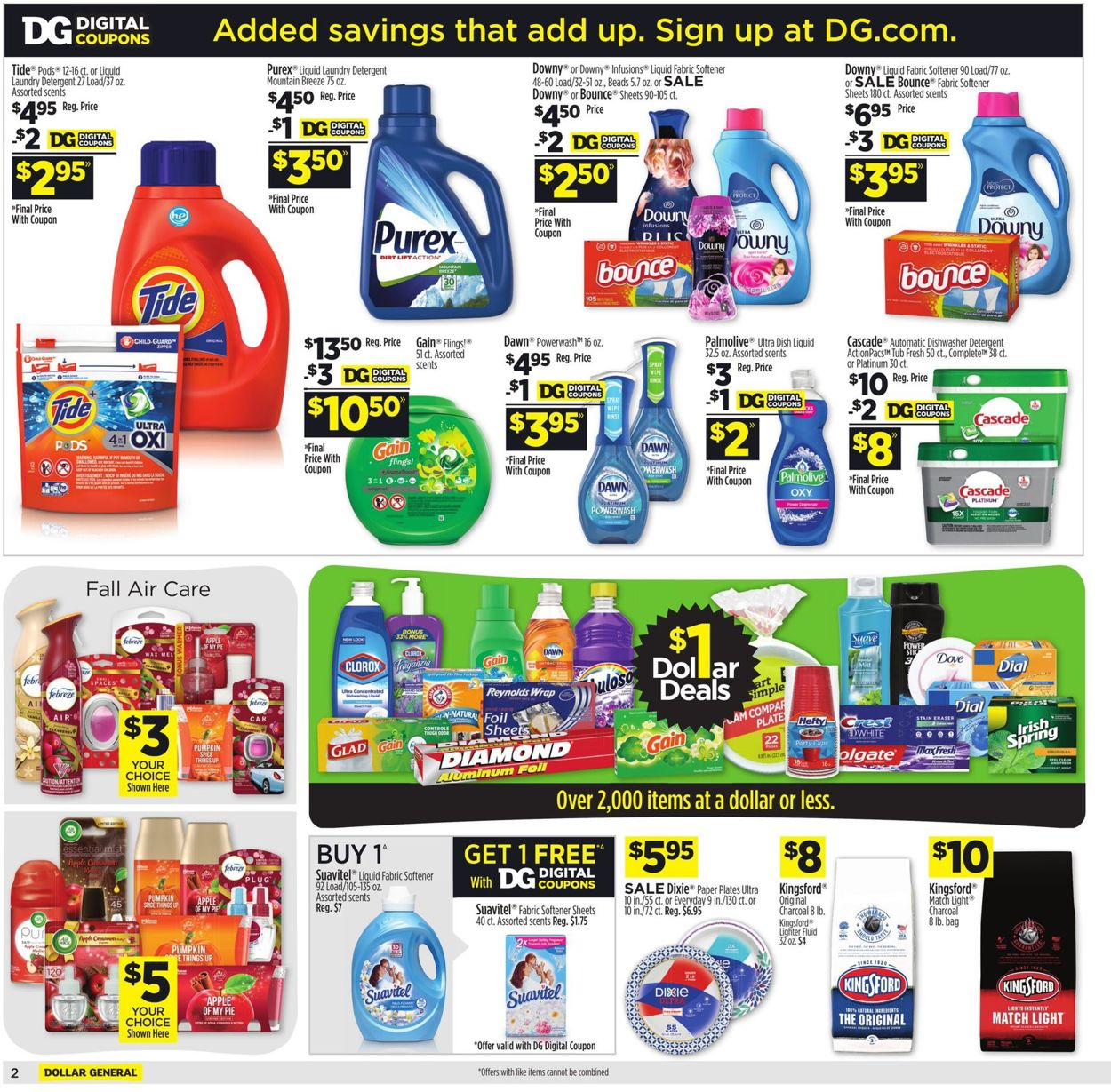 Dollar General Current Weekly Ad 10 11 10 17 2020 7 Frequent Ads Com