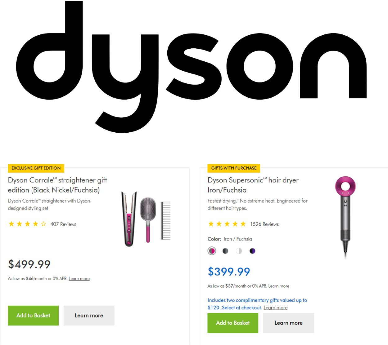Dyson Black Friday 2020 Current weekly ad 11/13 - 11/19/2020 -  frequent-ads.com