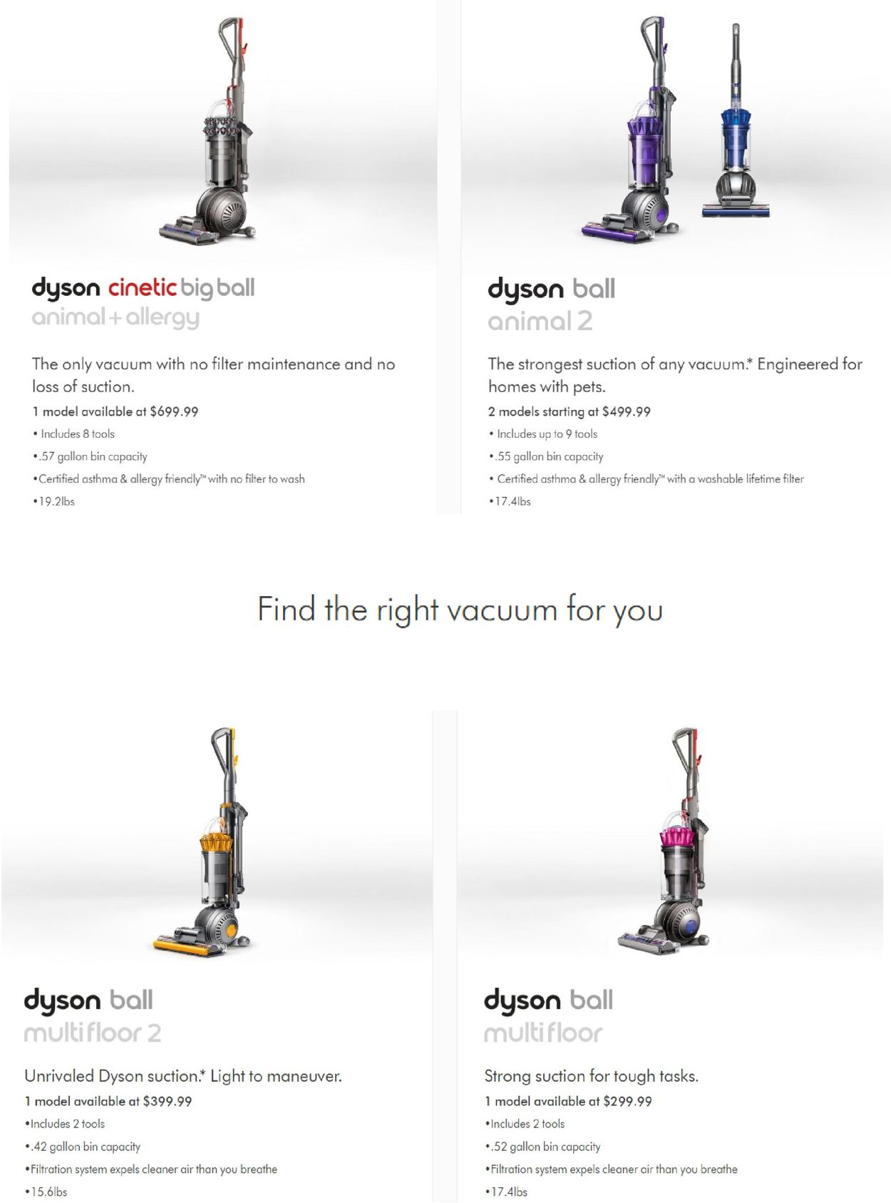 Dyson Black Friday 2020 Current weekly ad 11/20 - 11/26/2020 [4] -  frequent-ads.com
