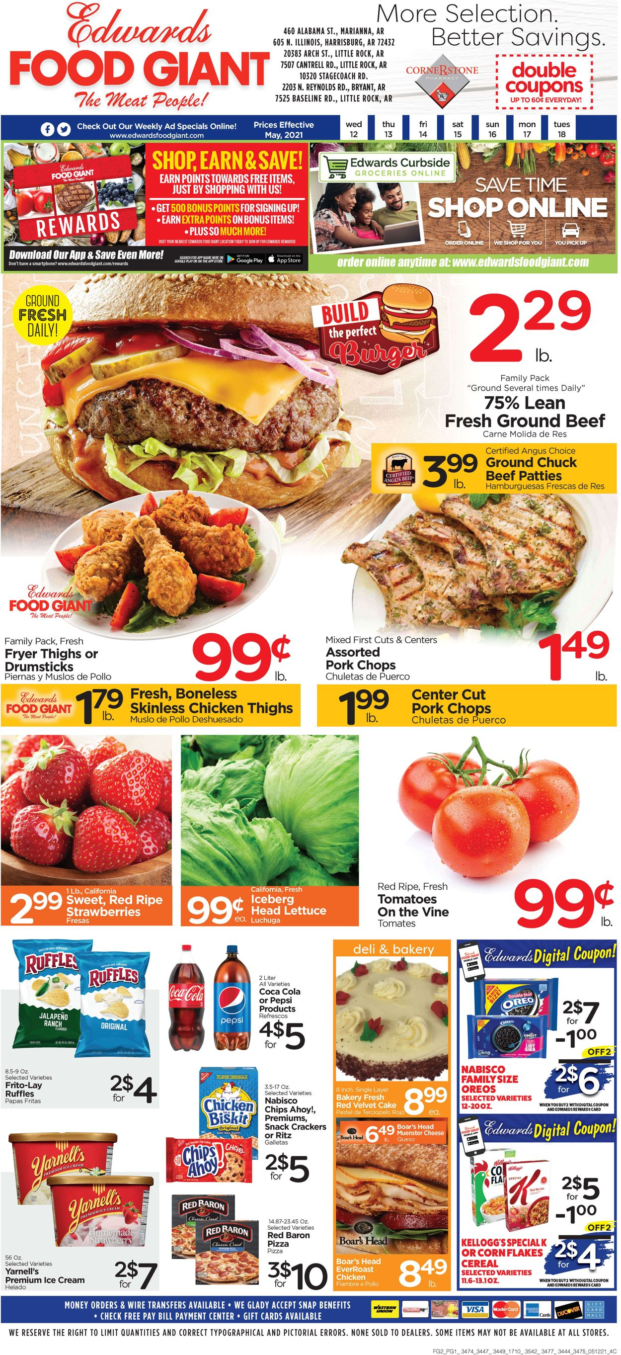 Catalogue Edwards Food Giant from 05/12/2021