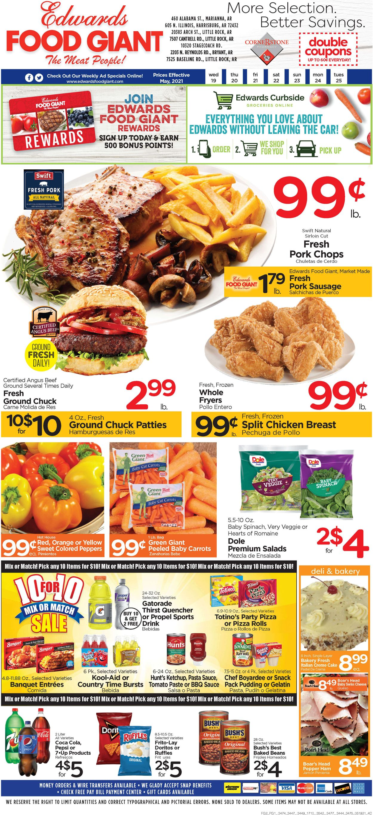 Catalogue Edwards Food Giant from 05/19/2021