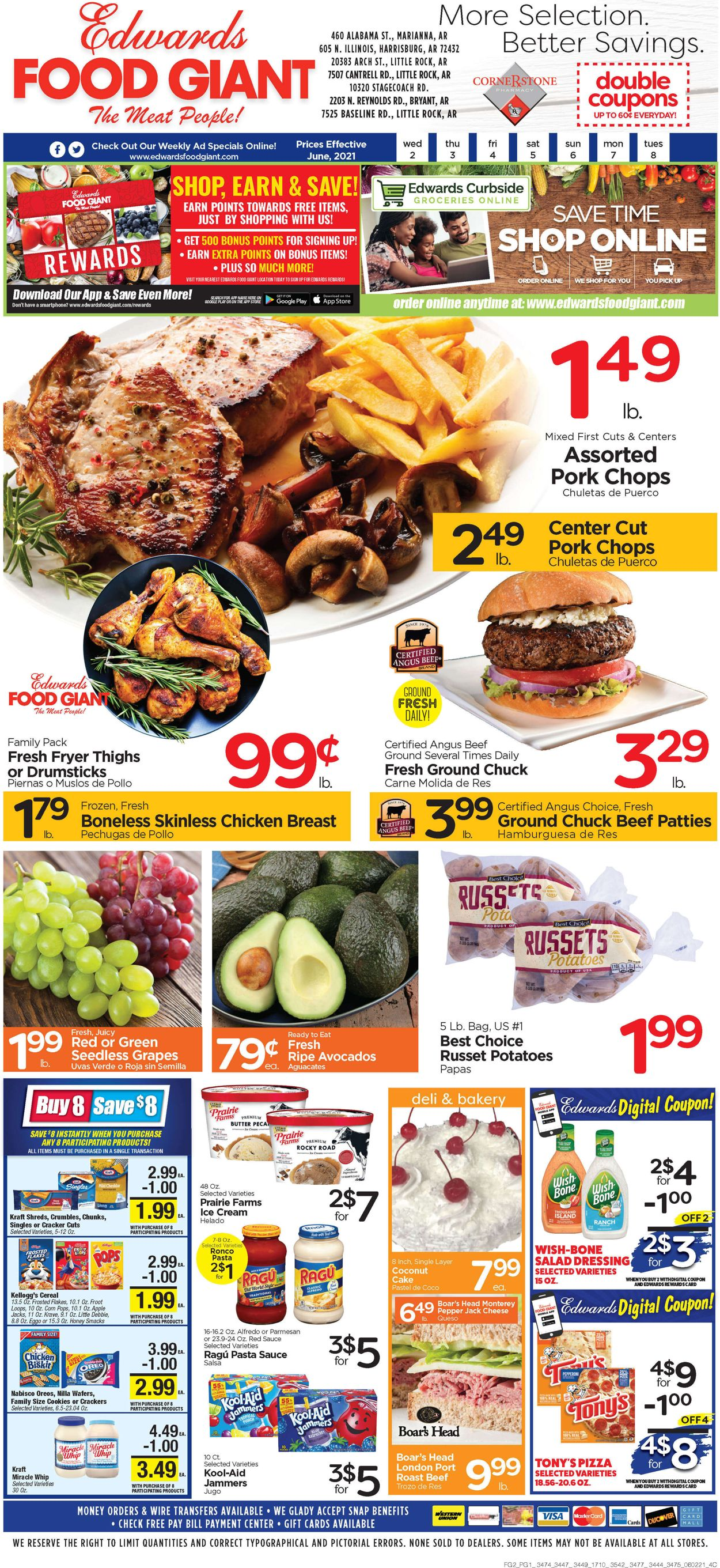 Catalogue Edwards Food Giant from 06/02/2021