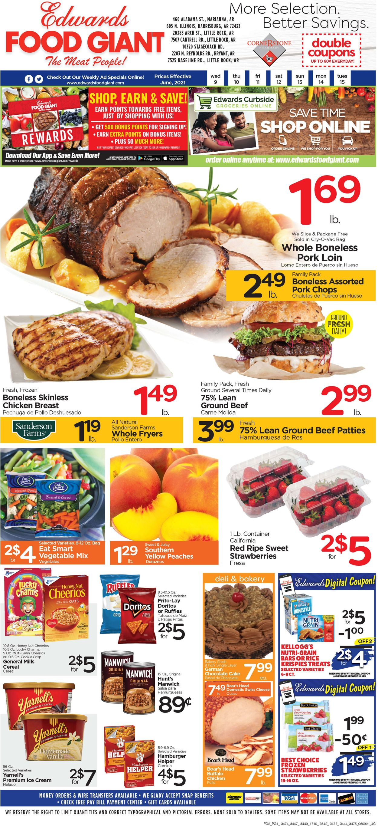 Catalogue Edwards Food Giant from 06/09/2021