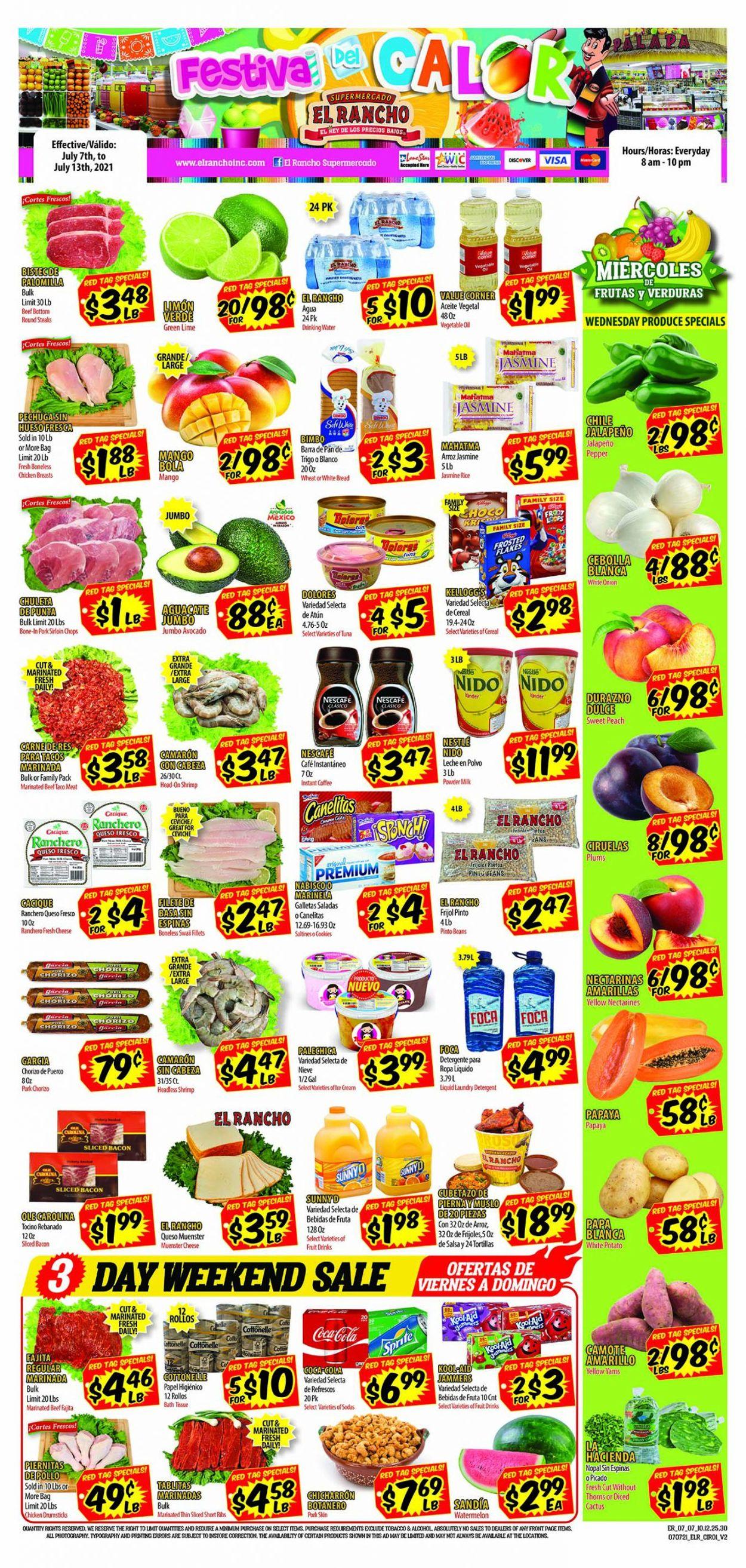 Catalogue El Rancho from 07/07/2021