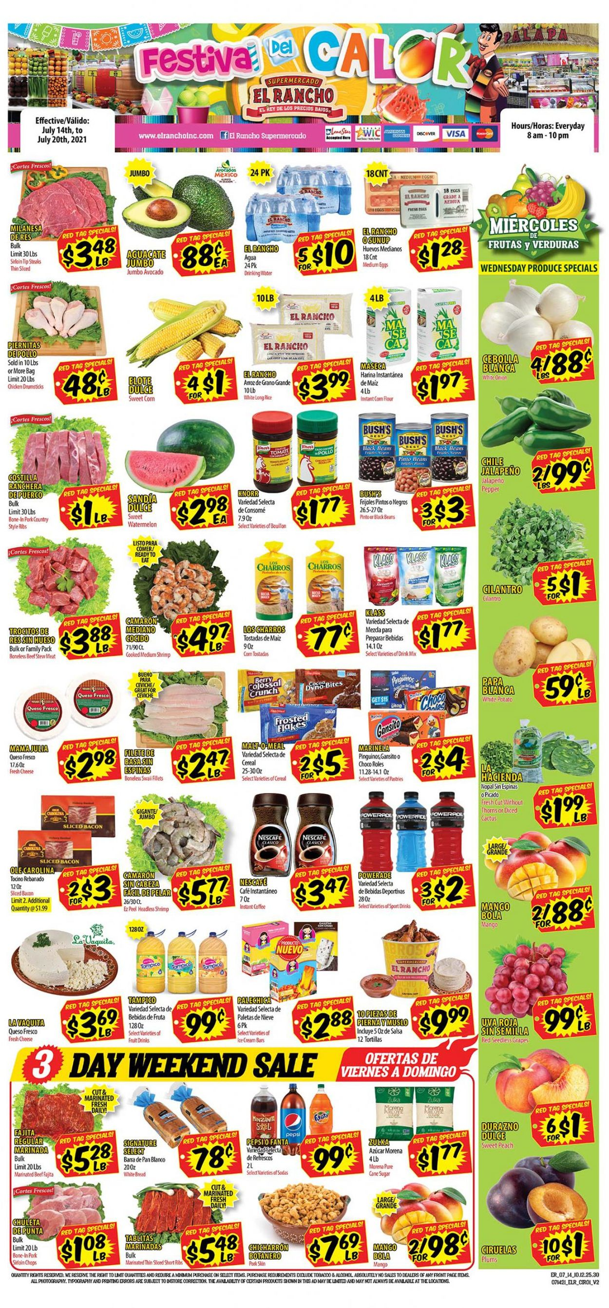 Catalogue El Rancho from 07/14/2021