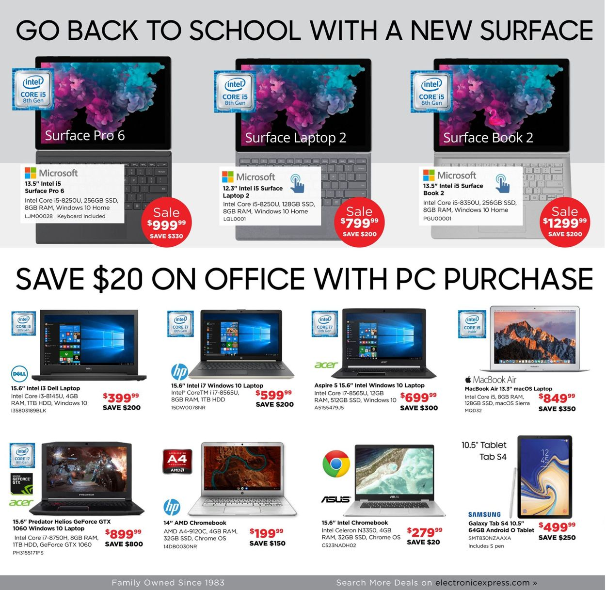 Electronic Express Current weekly ad 08\/18 - 08\/24\/2019 [2] - frequent-ads.com