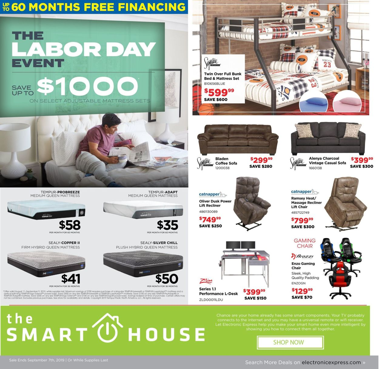 Electronic Express Current Weekly Ad 09 01 09 07 2019