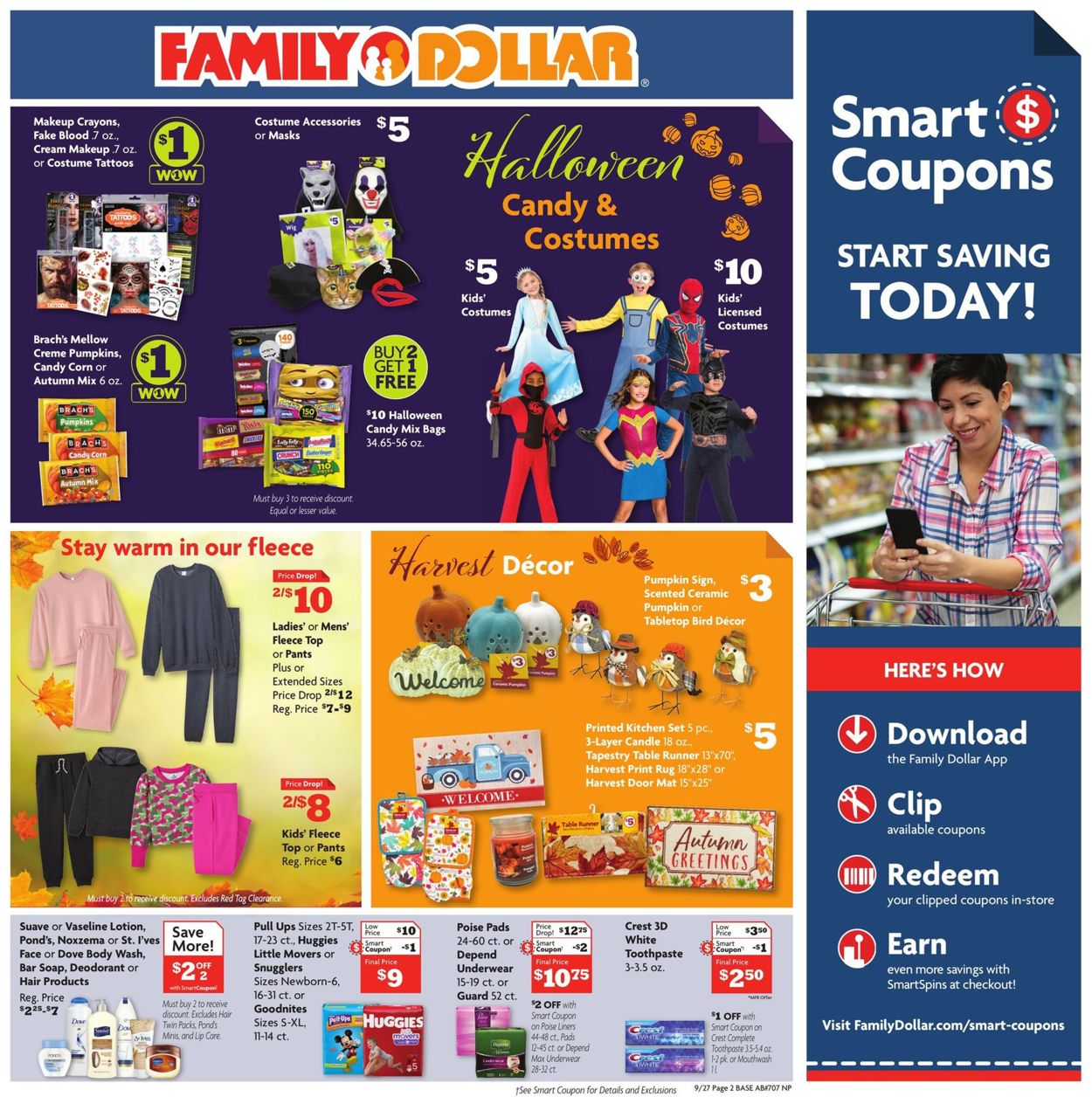 Crest Ads Halloween 2020 Family Dollar Current weekly ad 09/27   10/03/2020 [3]   frequent